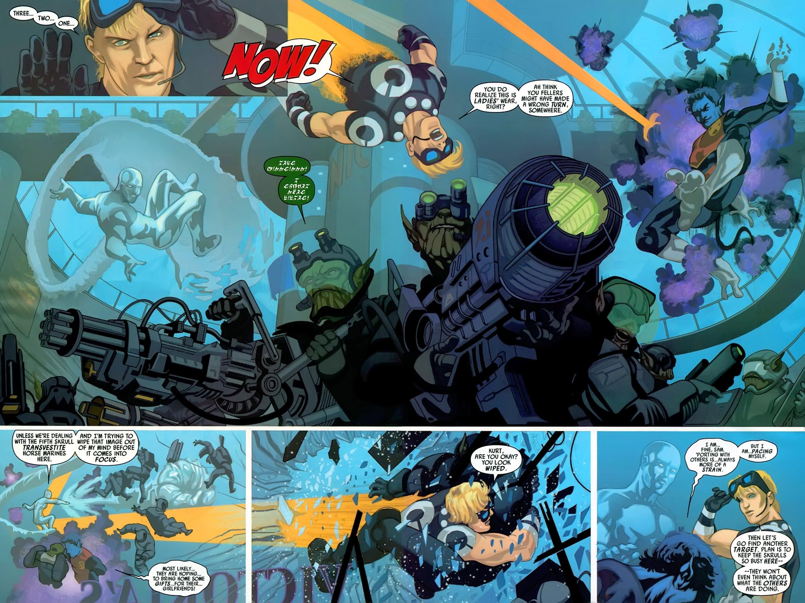 Read online Secret Invasion: X-Men comic -  Issue #3 - 6