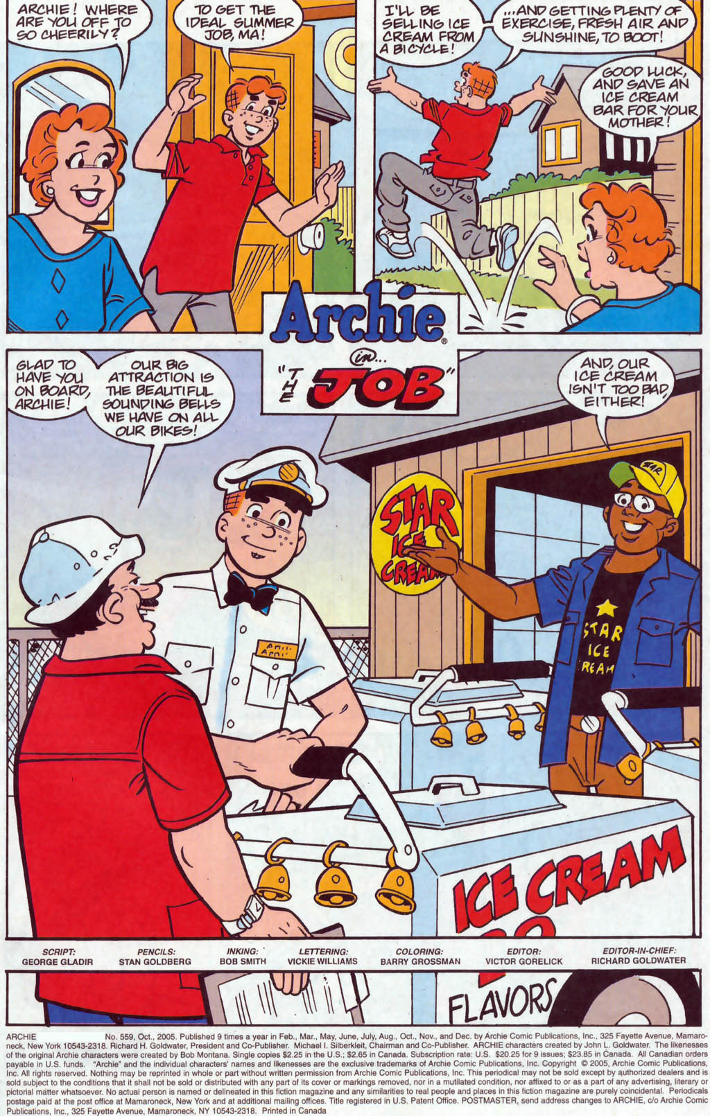 Read online Archie (1960) comic -  Issue #559 - 2