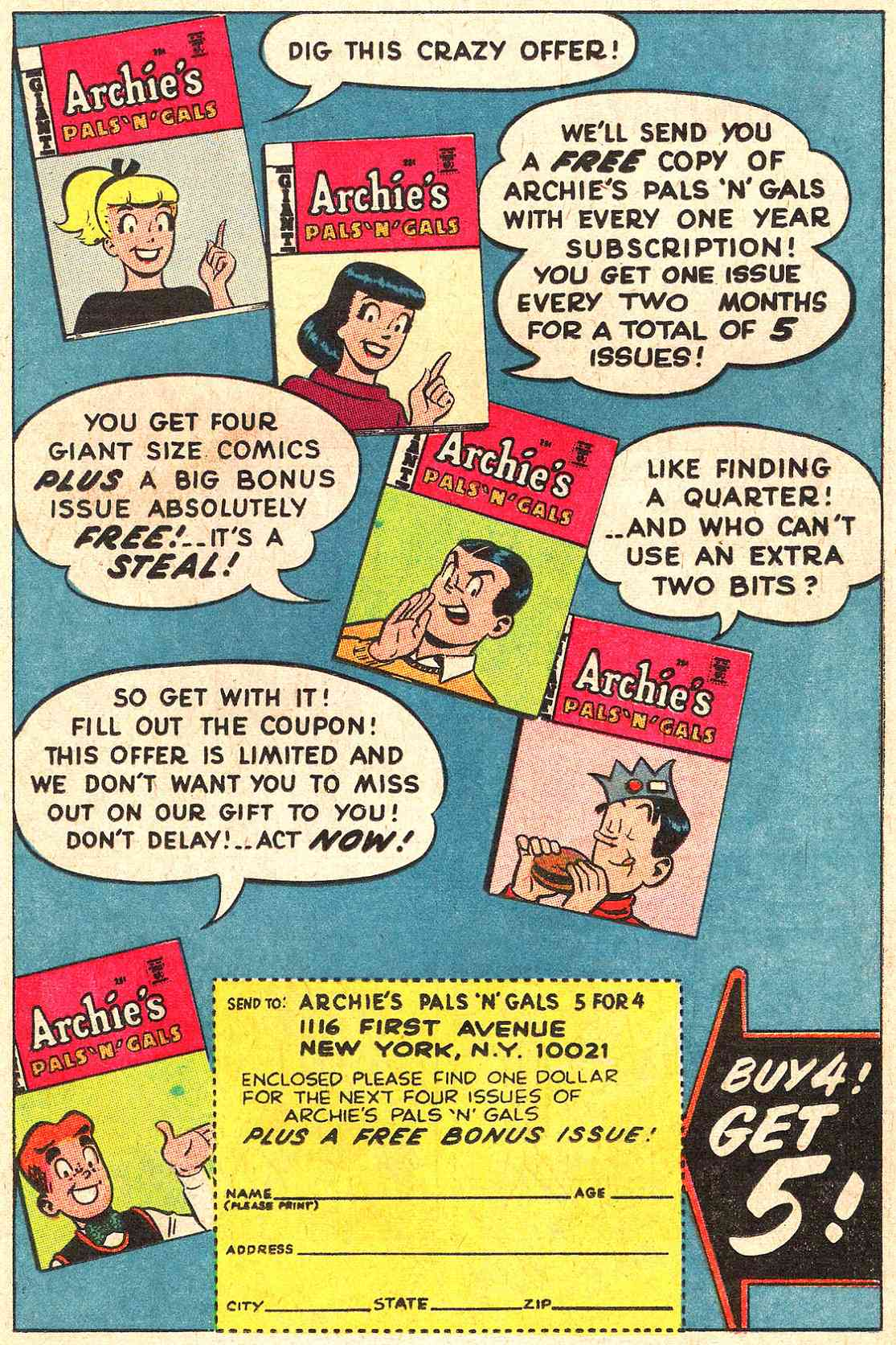 Read online Archie (1960) comic -  Issue #189 - 19