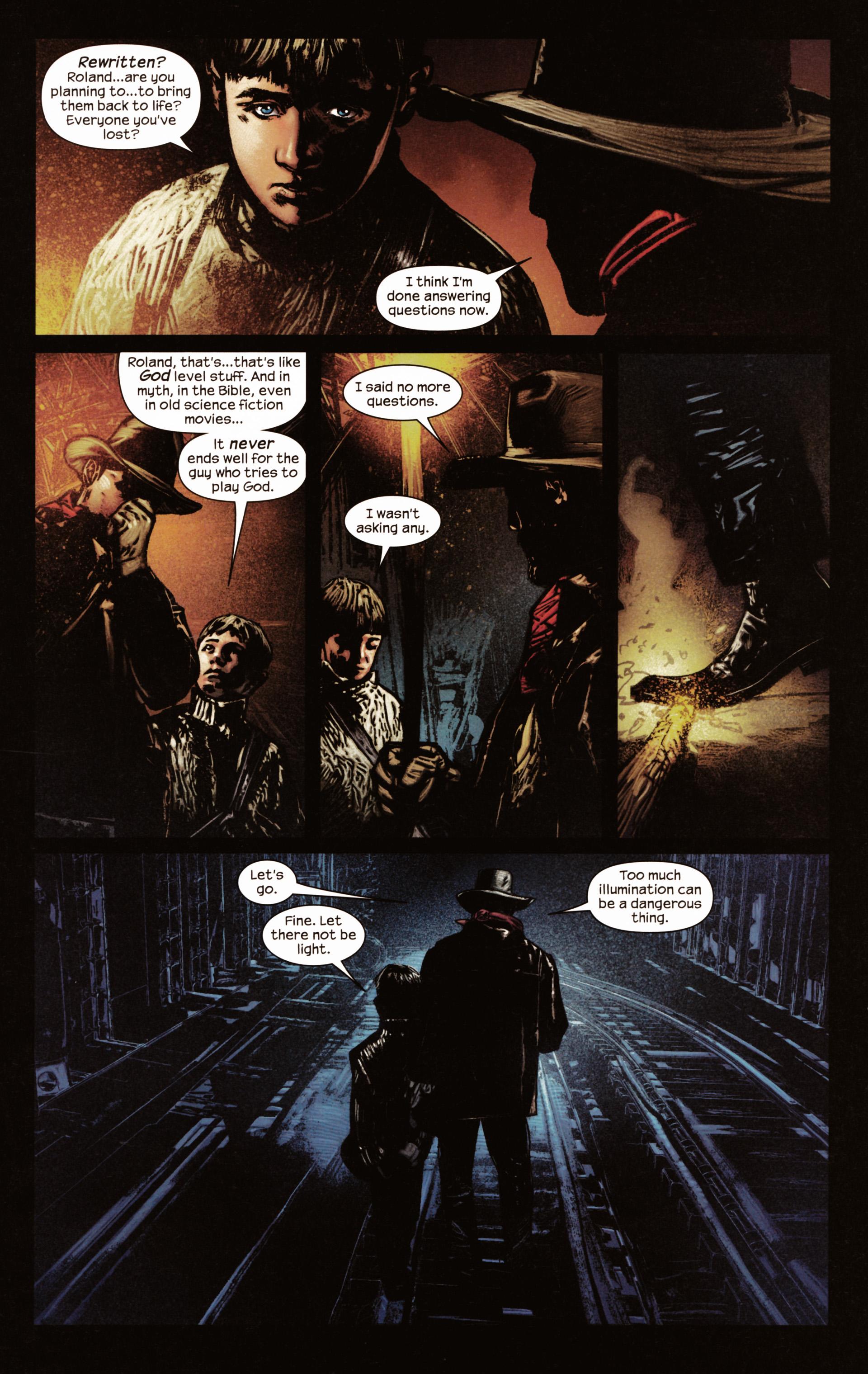 Read online Dark Tower: The Gunslinger - The Man in Black comic -  Issue #2 - 12