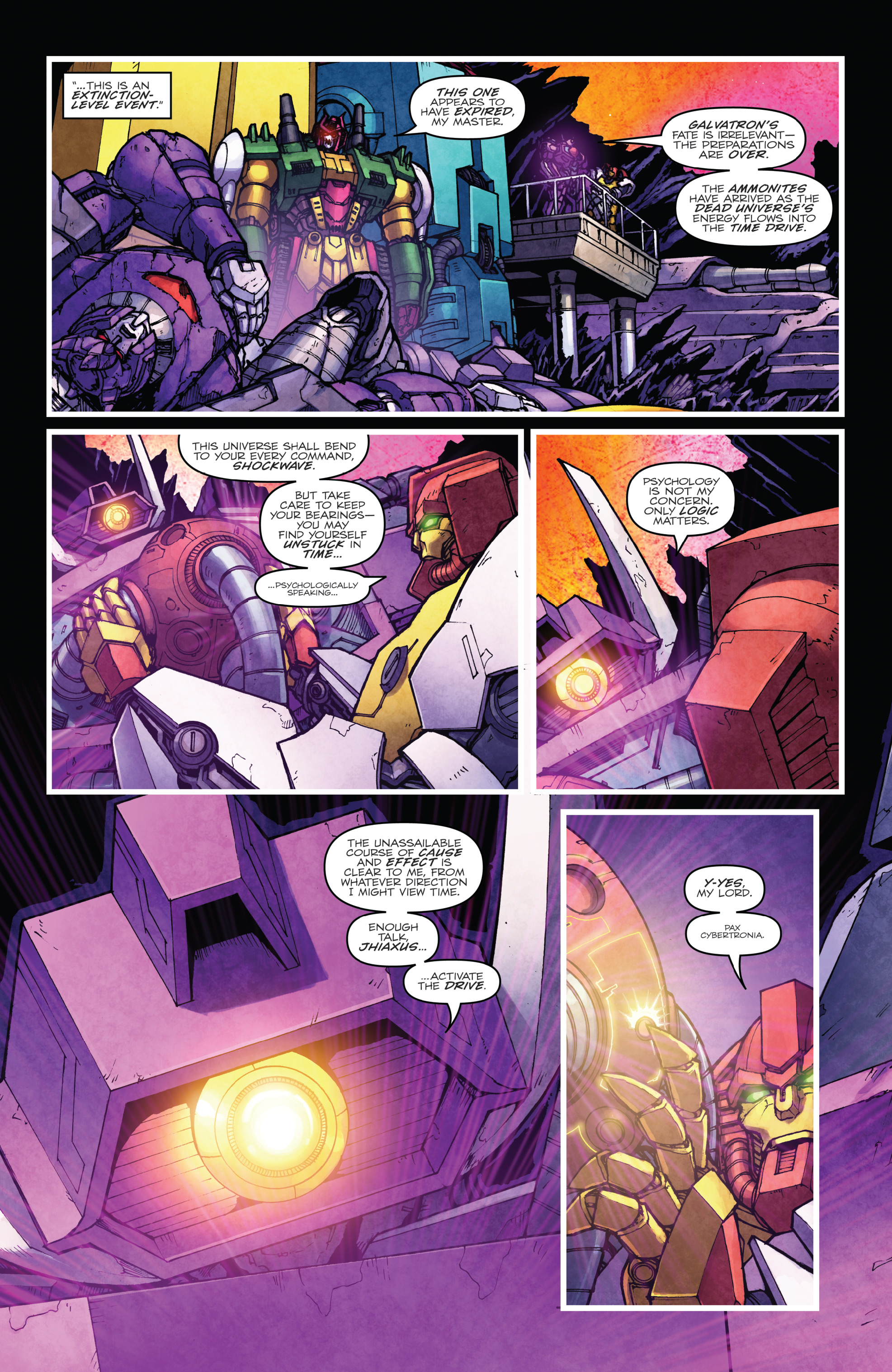 Read online The Transformers: Dark Cybertron Finale comic -  Issue # Full - 106
