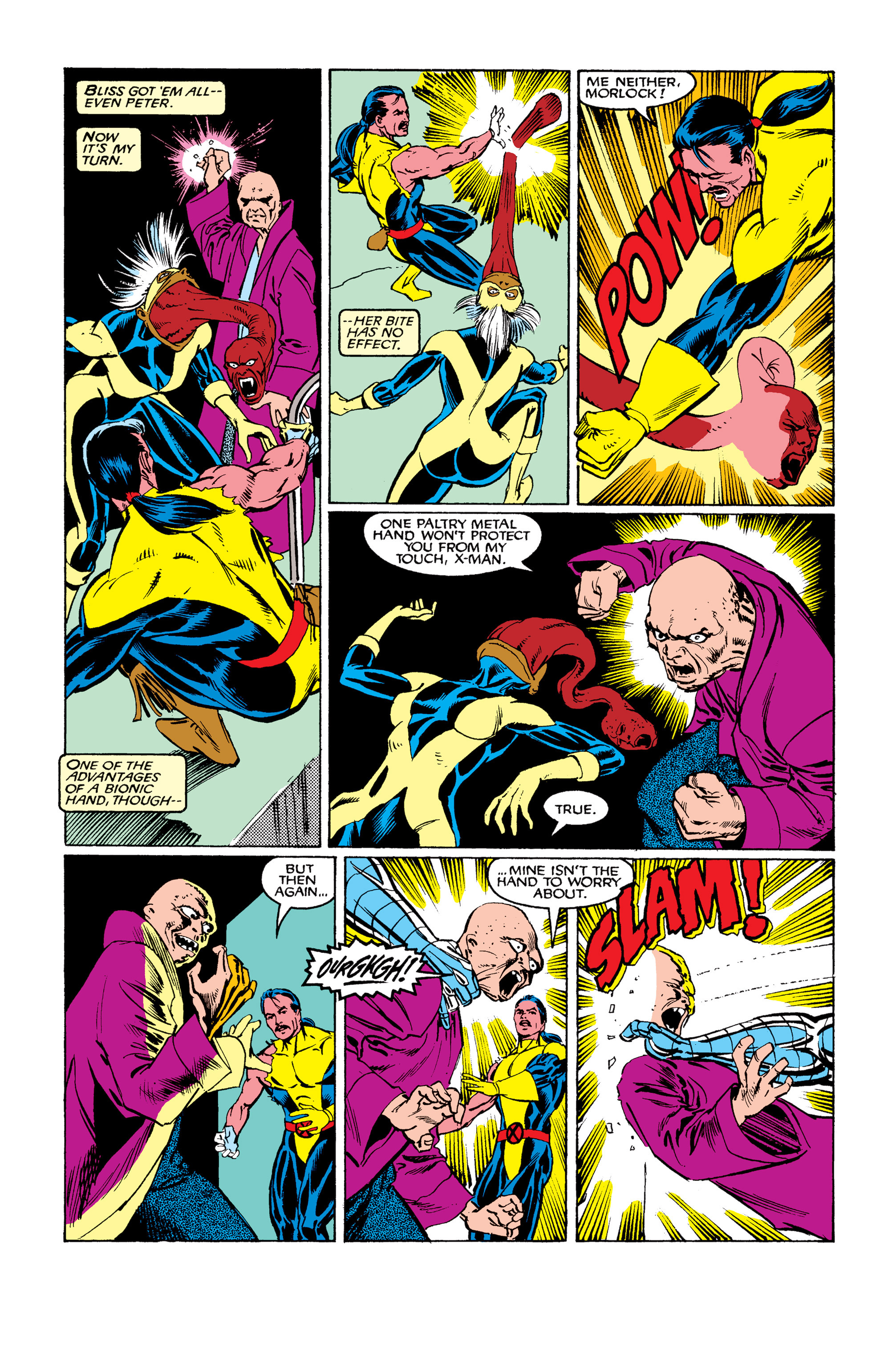 Read online Uncanny X-Men (1963) comic -  Issue #263 - 22