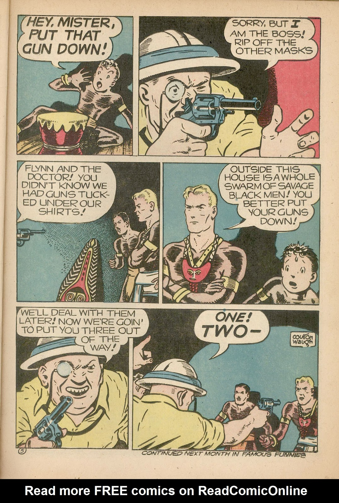 Read online Famous Funnies comic -  Issue #98 - 23