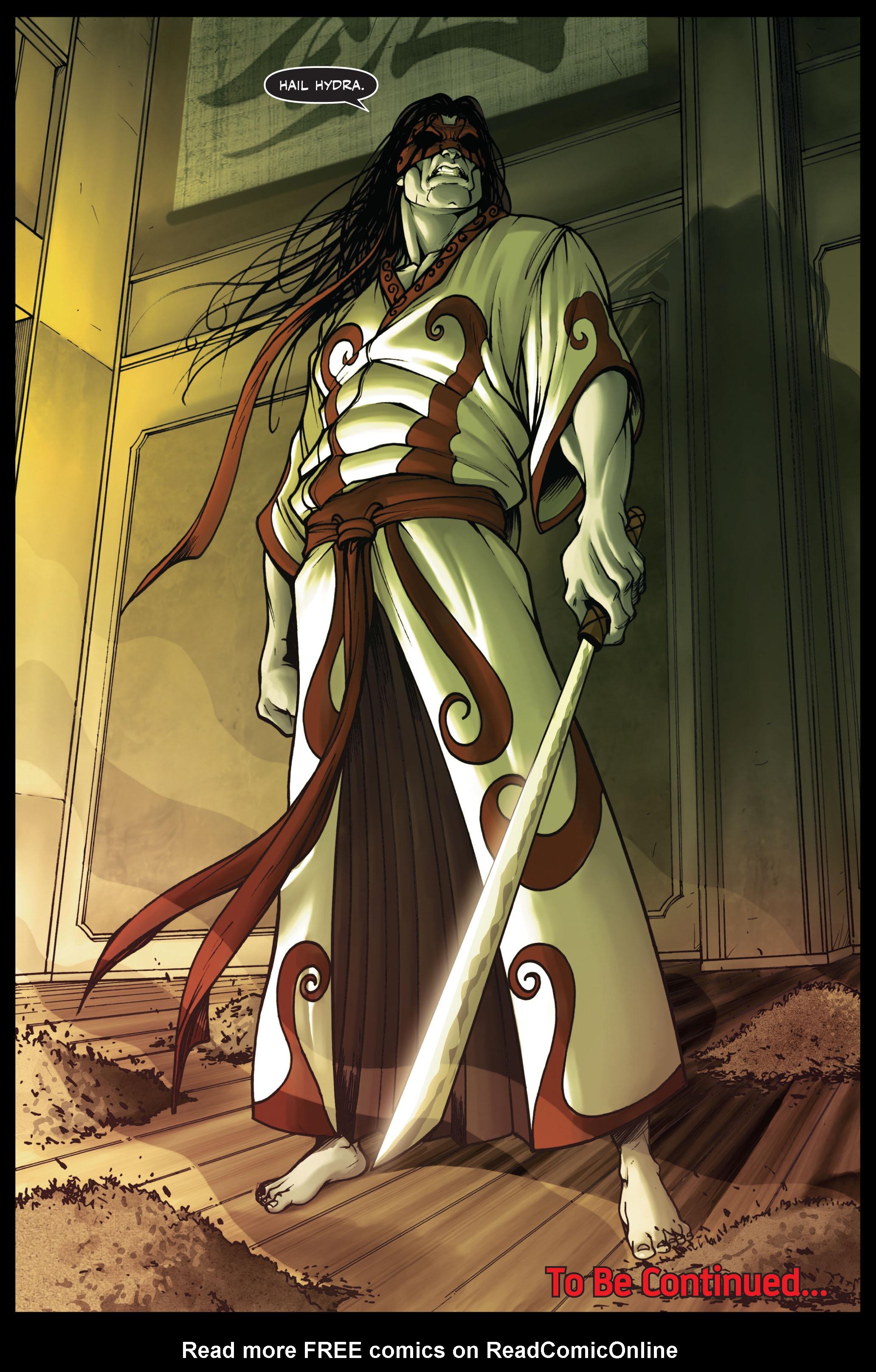 Read online Secret Warriors comic -  Issue #2 - 24