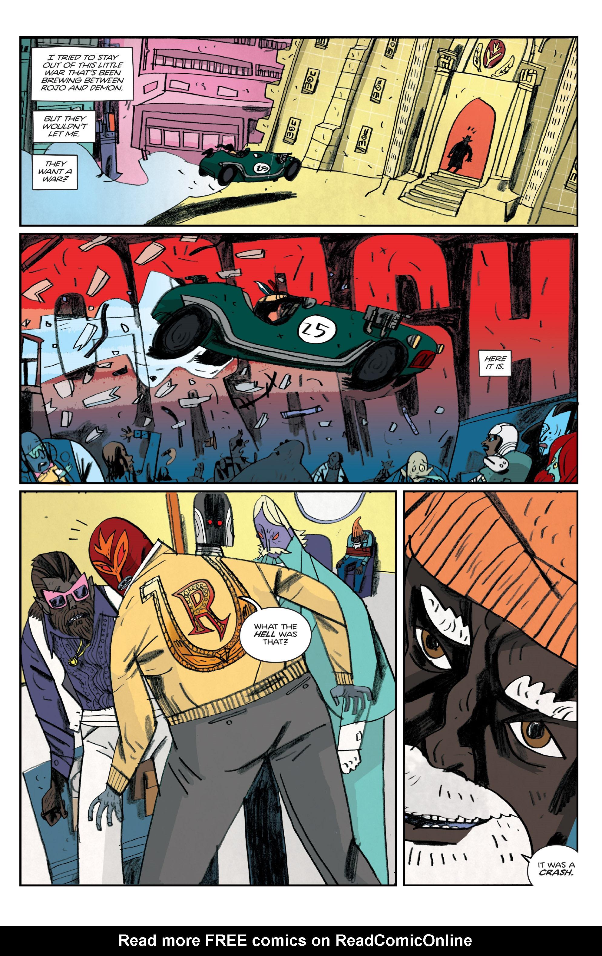 Read online Helena Crash comic -  Issue #4 - 18