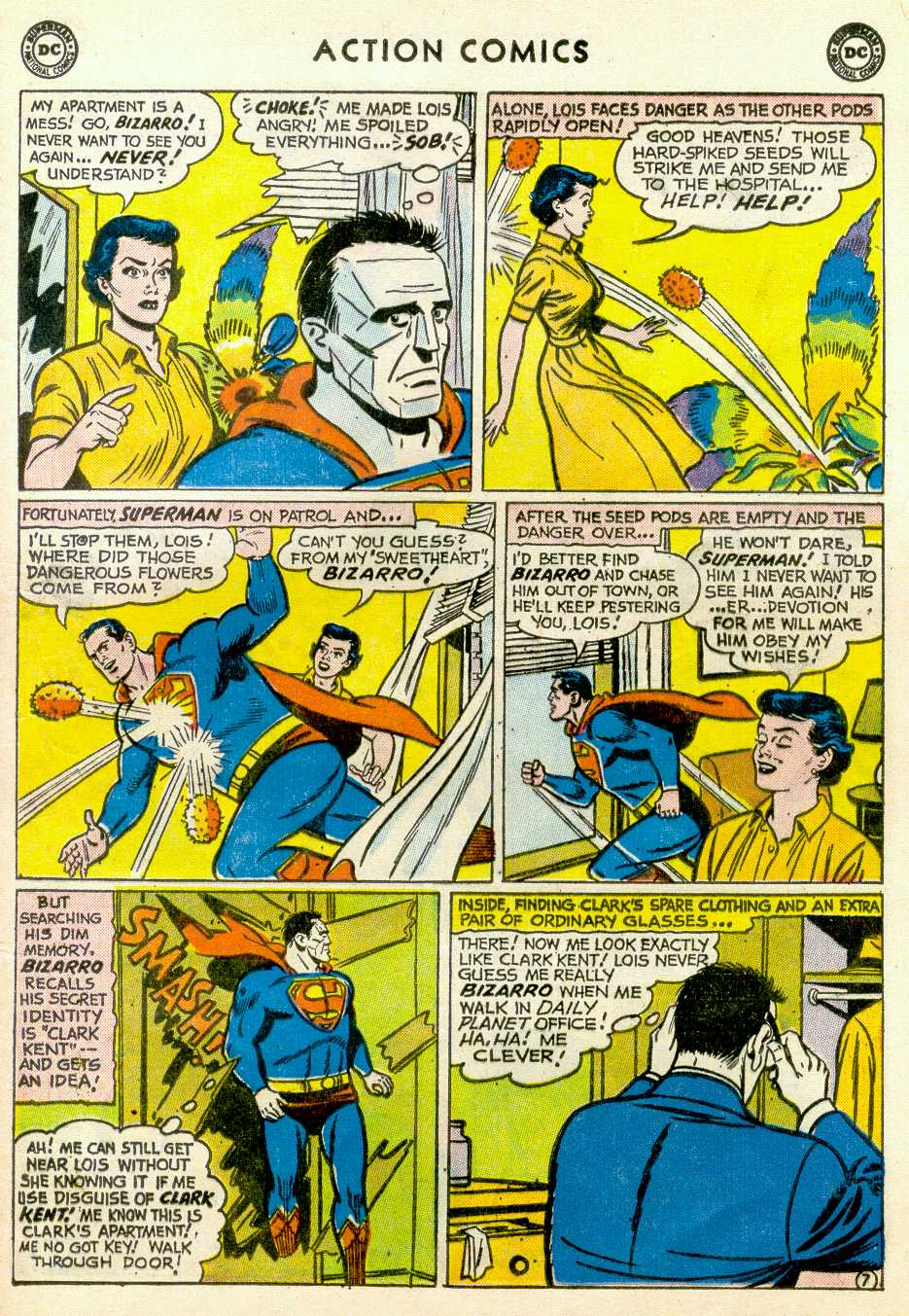 Read online Action Comics (1938) comic -  Issue #255 - 9