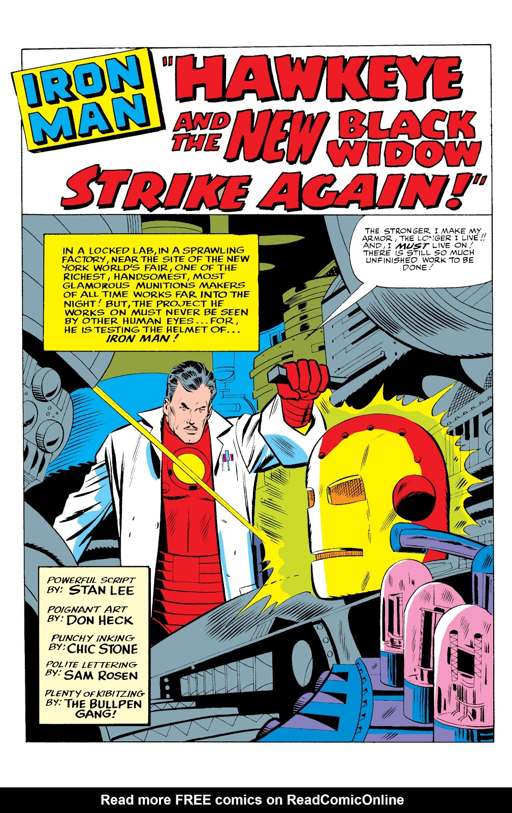 Read online Marvel Masterworks: The Invincible Iron Man comic -  Issue # TPB 2 (Part 3) - 15