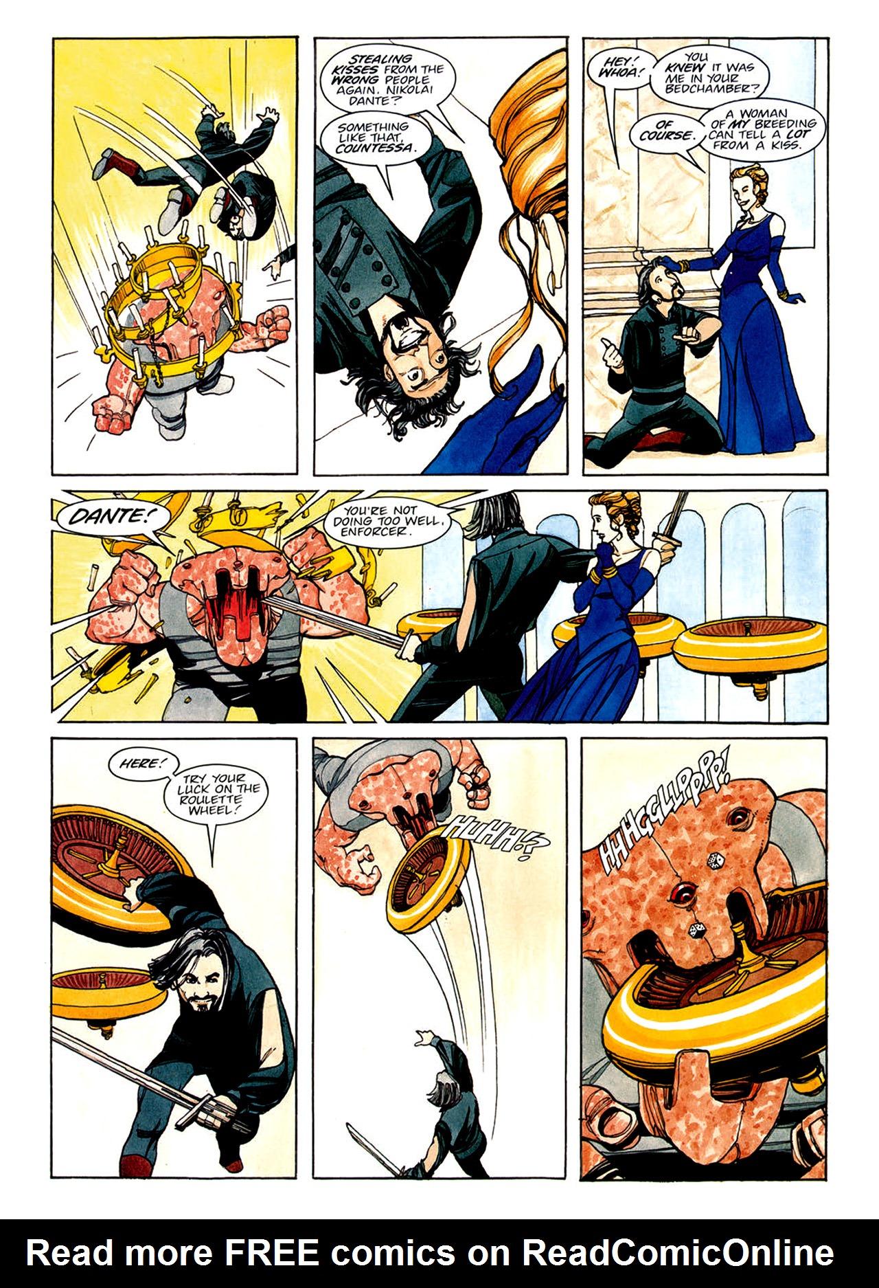Read online Nikolai Dante comic -  Issue # TPB 1 - 120