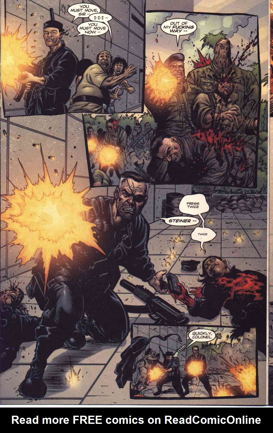 Read online Fury comic -  Issue #5 - 9