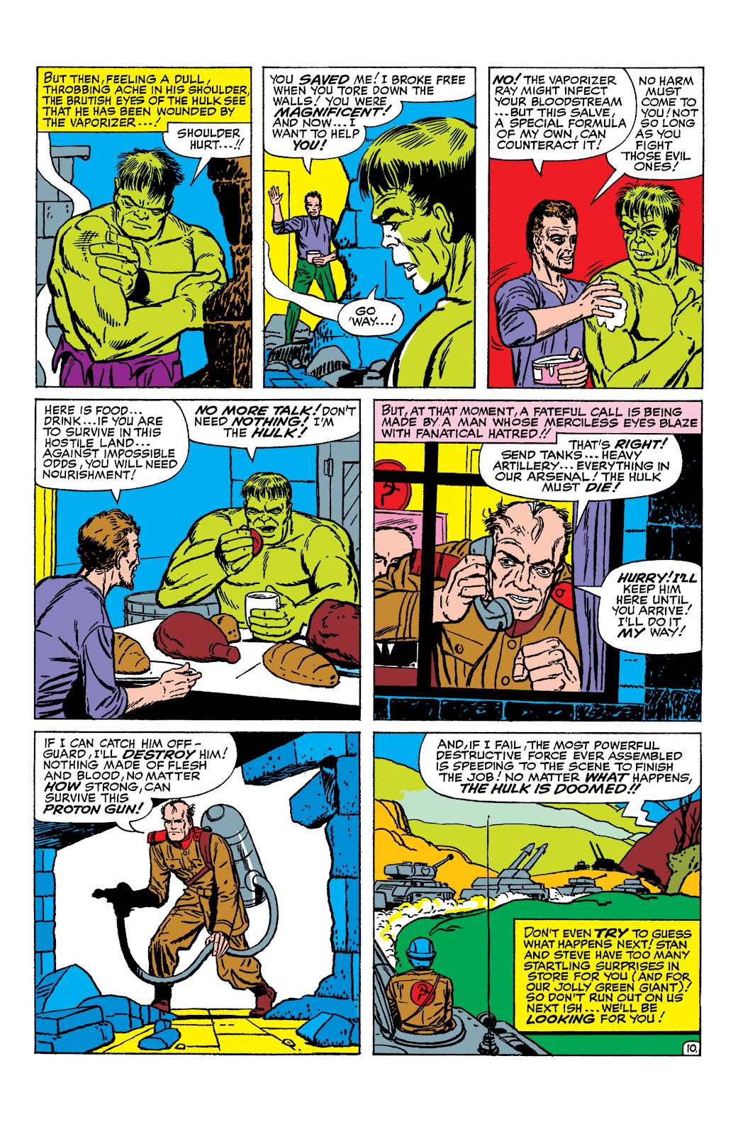 Read online Marvel Masterworks: The Incredible Hulk comic -  Issue # TPB 2 (Part 1) - 89