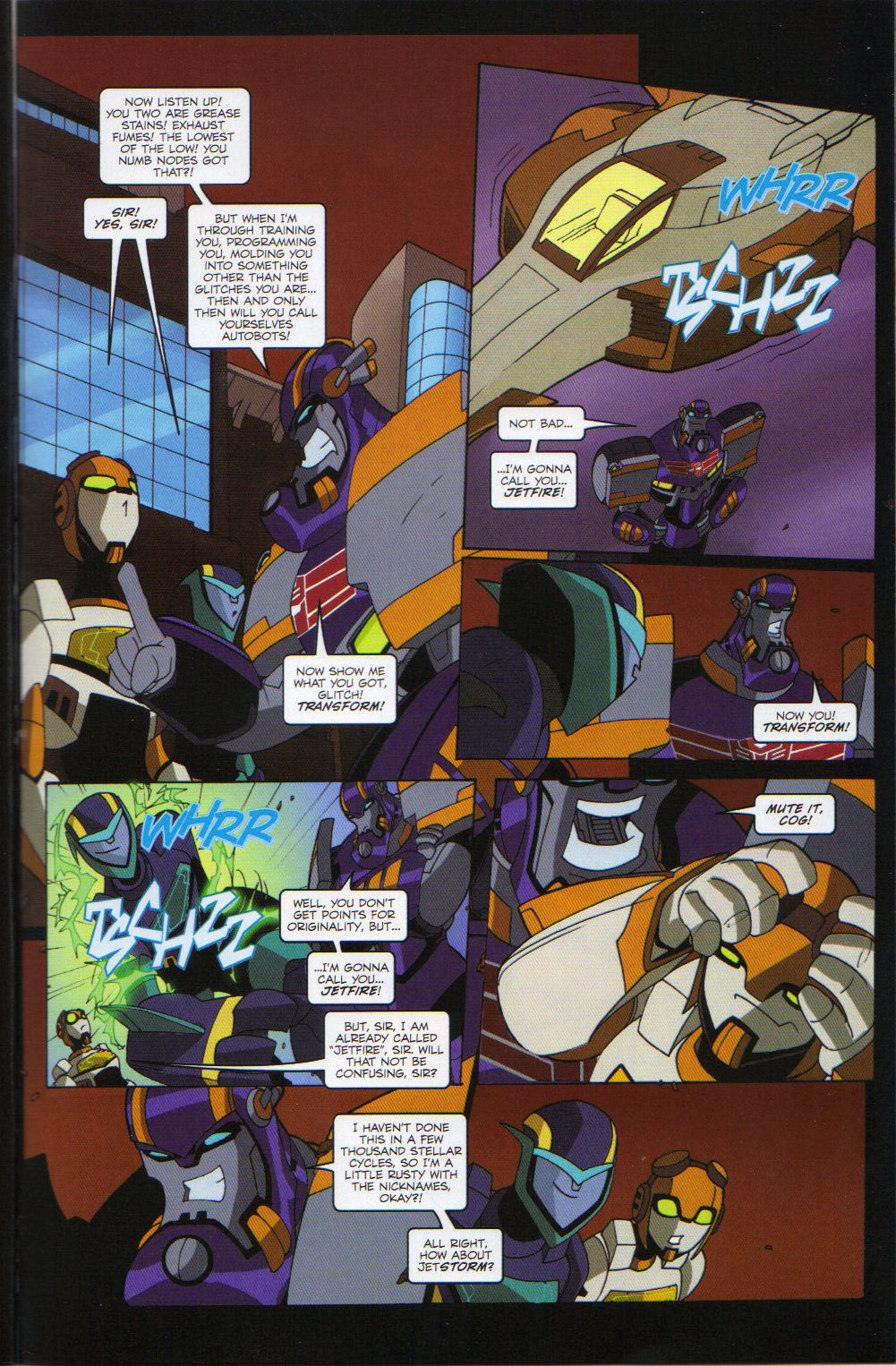 Read online Transformers Animated: The Arrival comic -  Issue #6 - 11