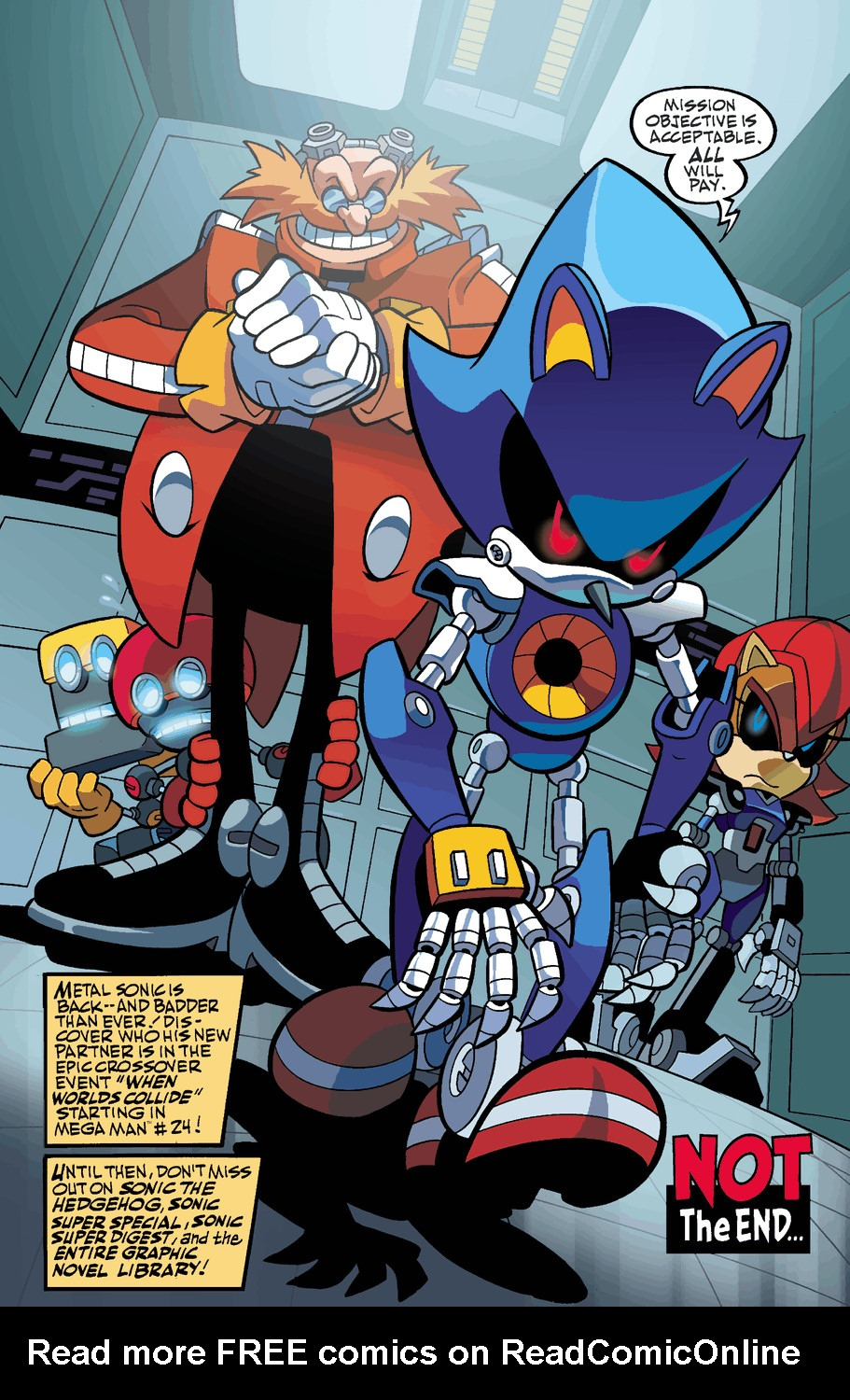 Read online Sonic Universe comic -  Issue #50 - 25