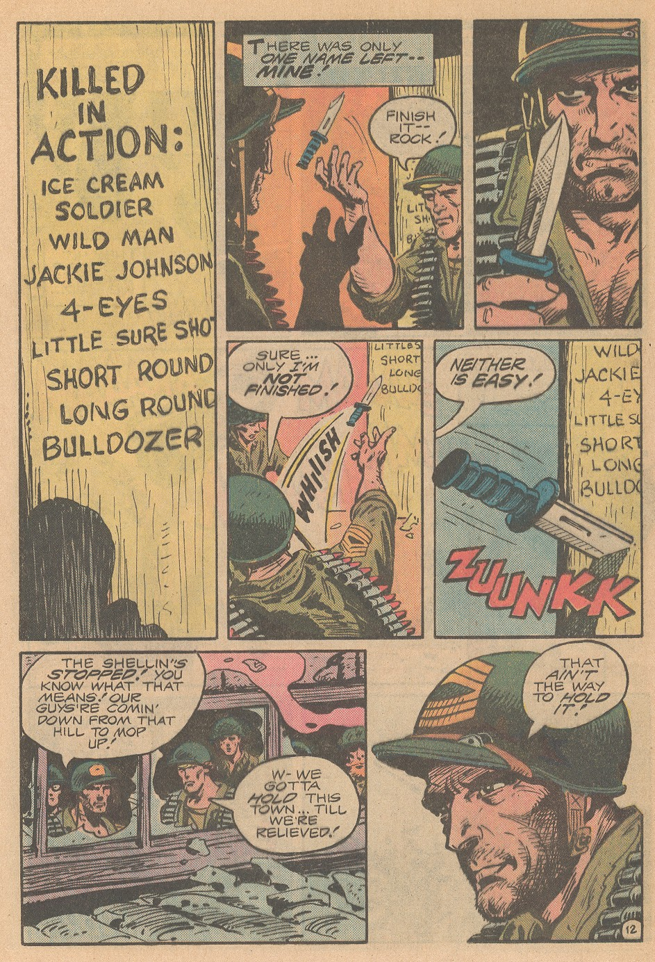 Read online Sgt. Rock comic -  Issue #363 - 13