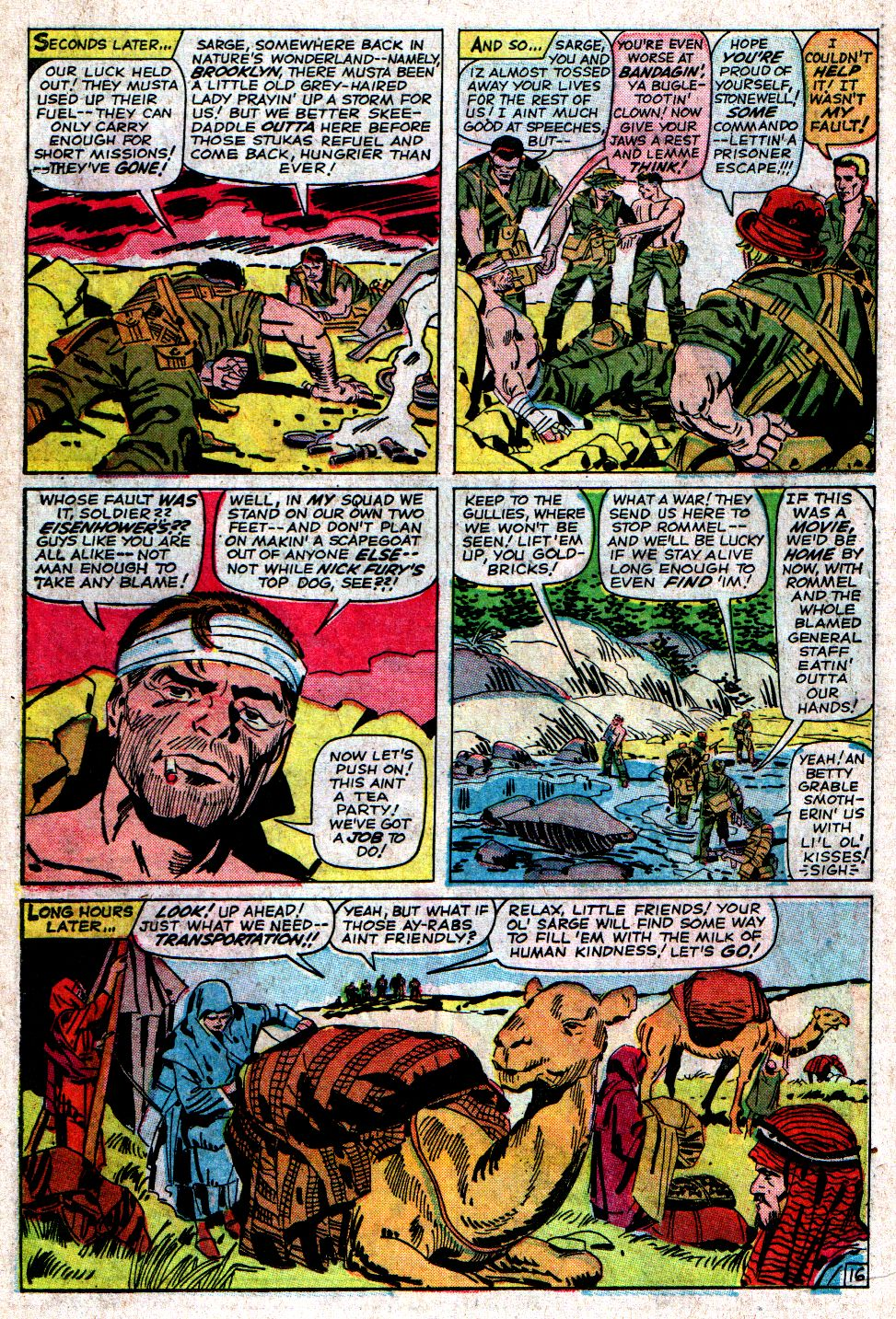 Read online Sgt. Fury comic -  Issue #6 - 22