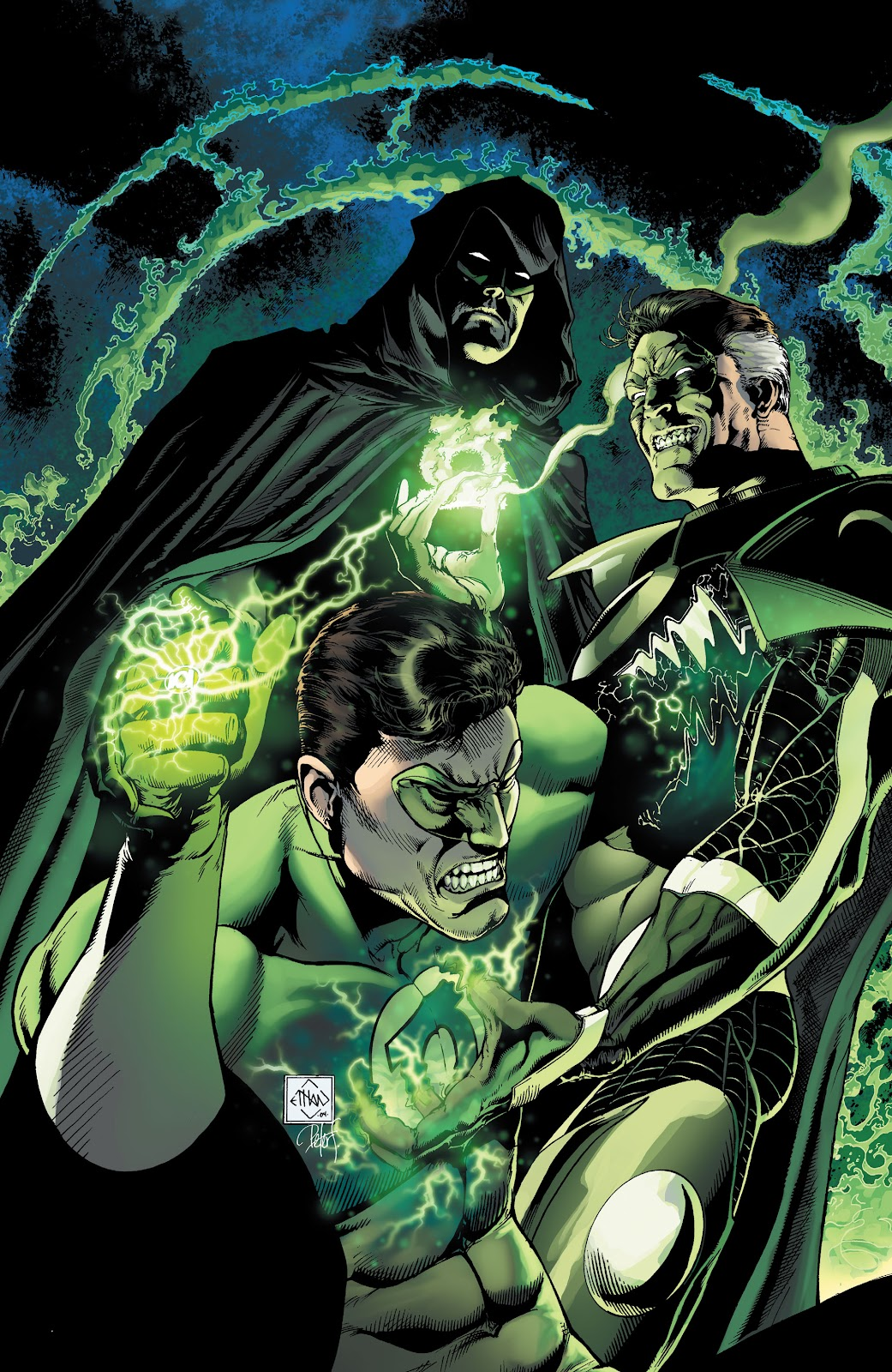 Read online Green Lantern by Geoff Johns comic -  Issue # TPB 1 (Part 1) - 65