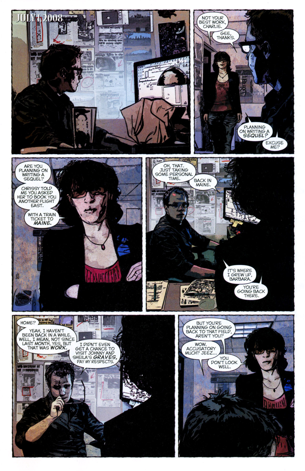 Read online Stephen King's N. comic -  Issue #4 - 15