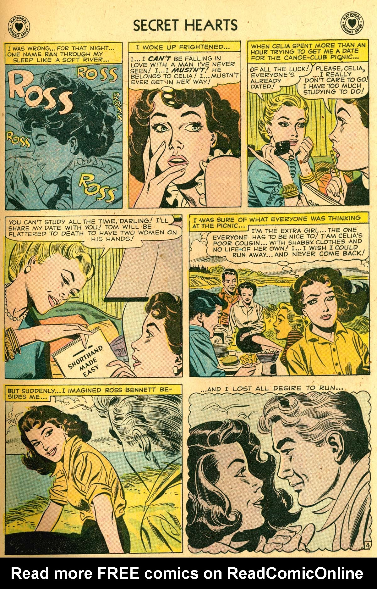 Read online Secret Hearts comic -  Issue #52 - 29