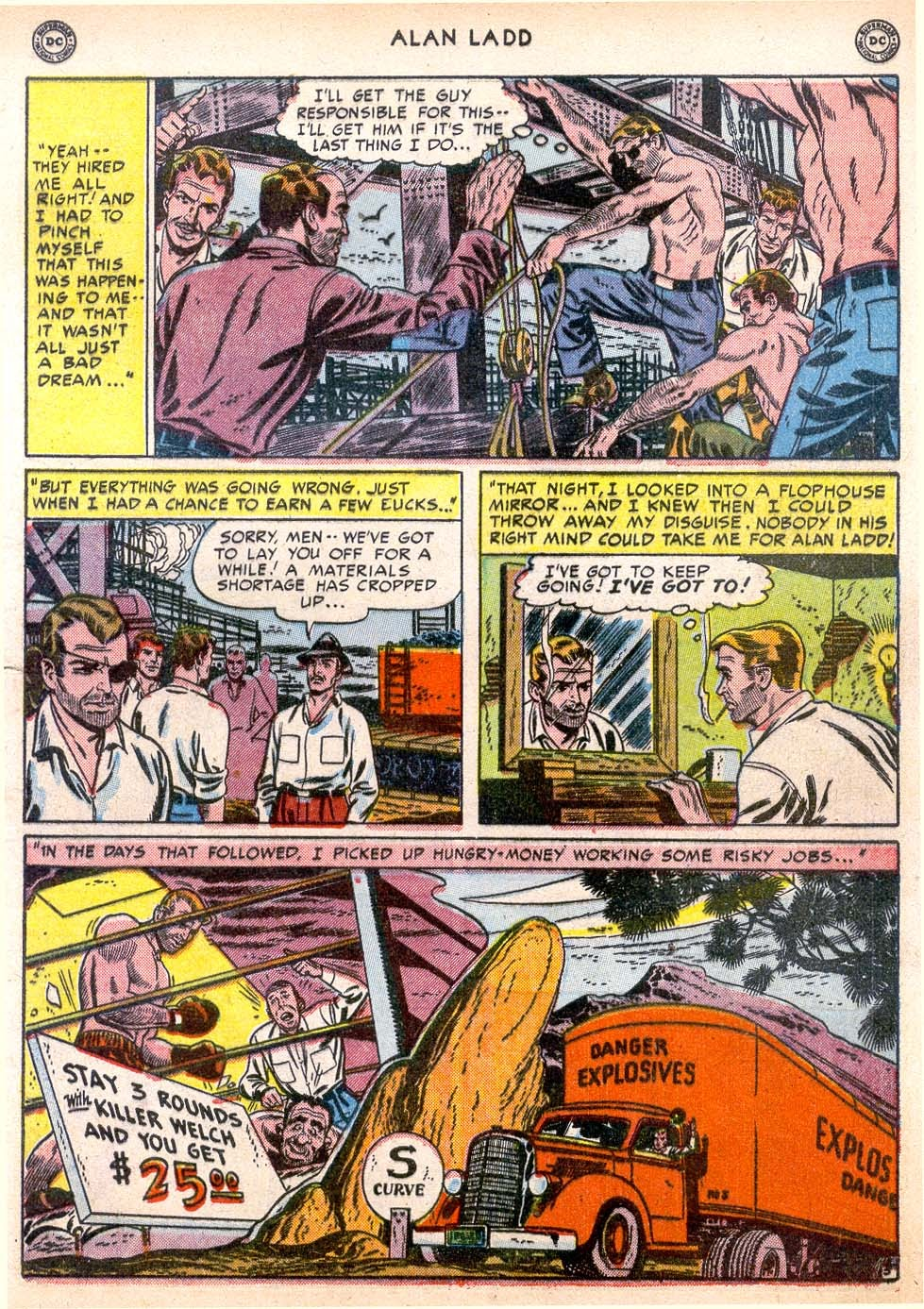 Adventures of Alan Ladd issue 4 - Page 7