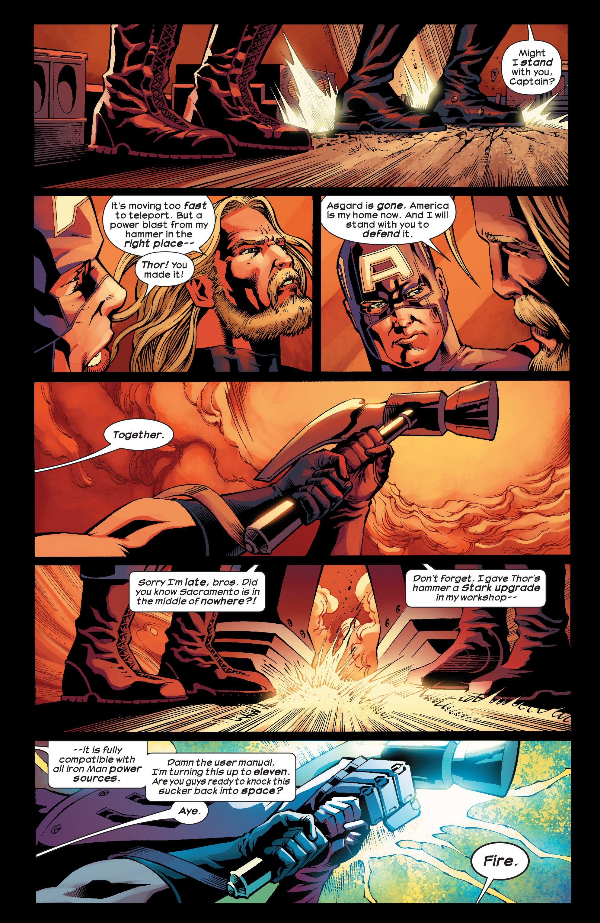 Read online Ultimate Comics Ultimates comic -  Issue #24 - 17