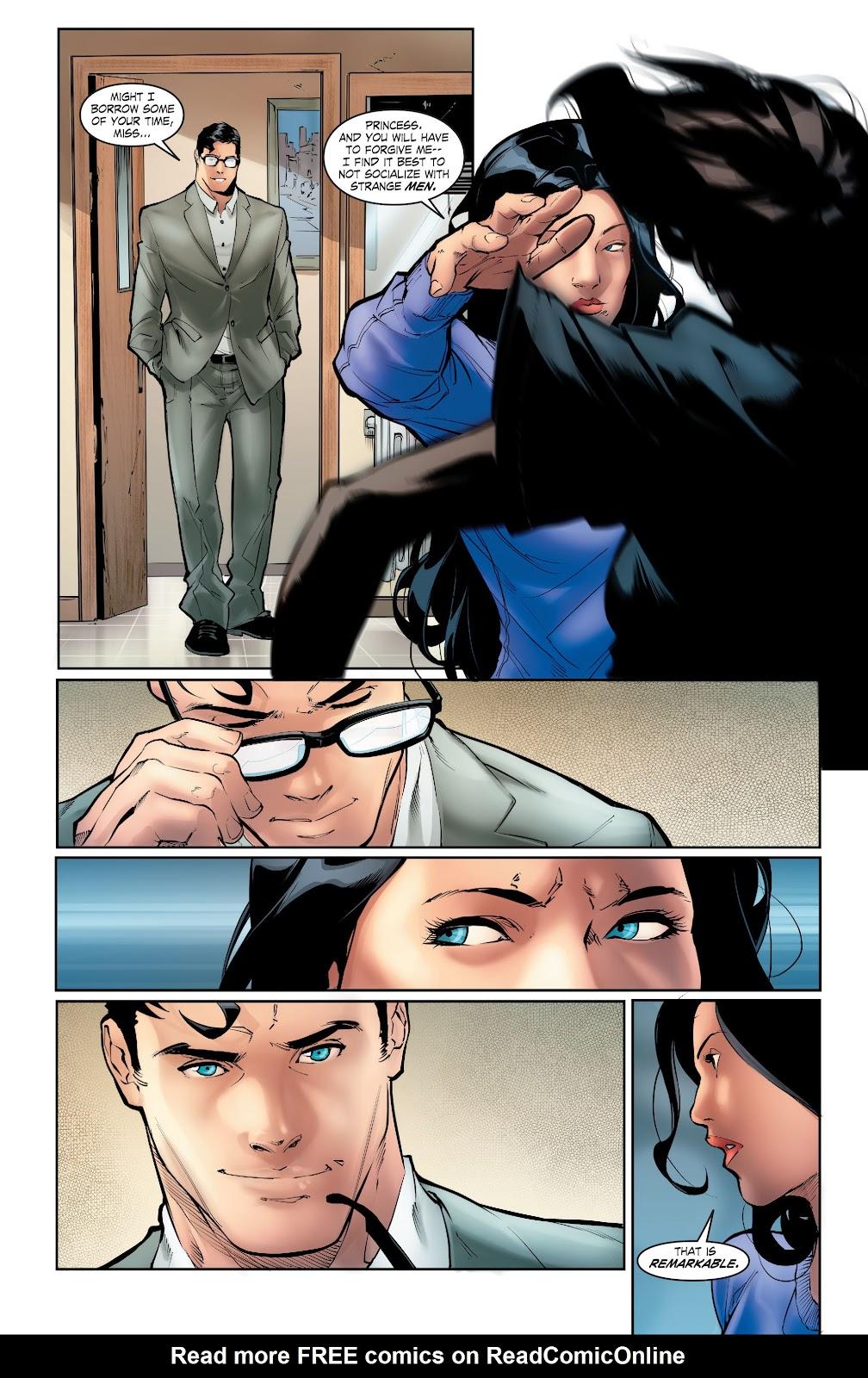 Read online Smallville Season 11 [II] comic -  Issue # TPB 5 - 46