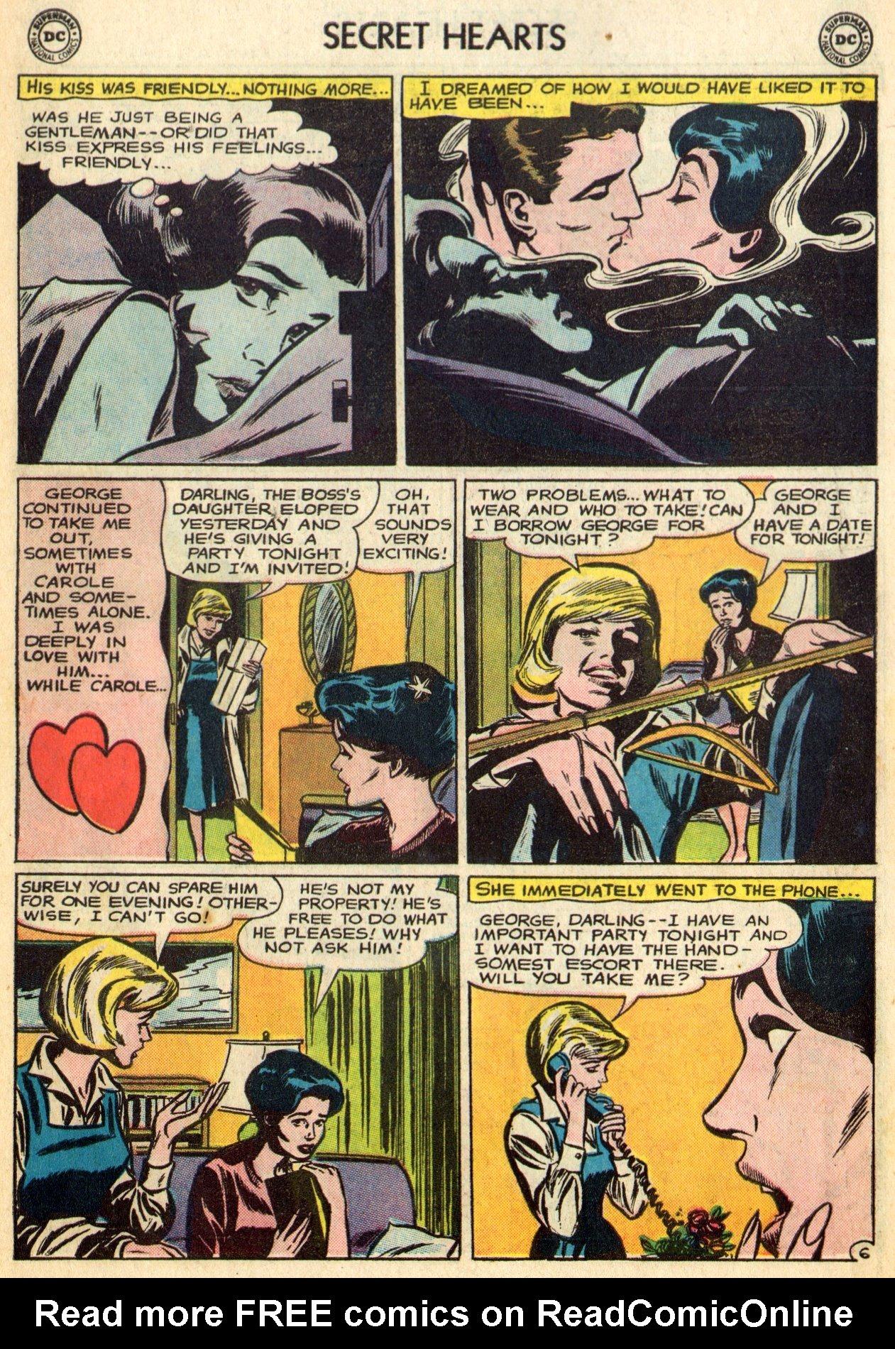 Read online Secret Hearts comic -  Issue #96 - 19