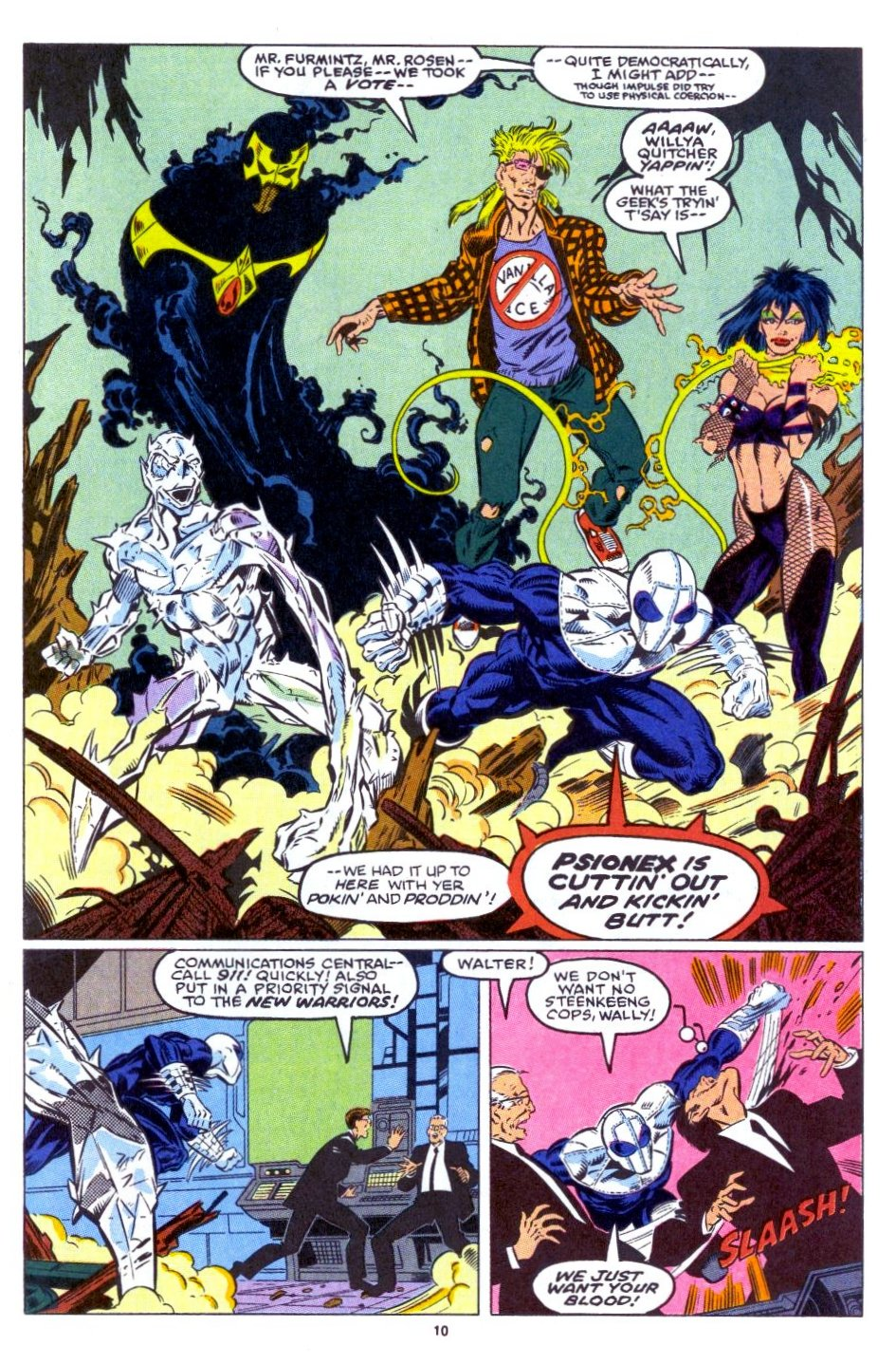 The New Warriors Issue #15 #19 - English 9