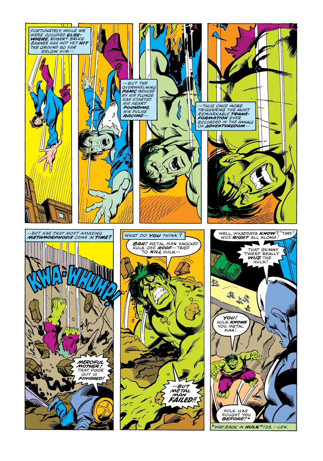 Read online Marvel Masterworks: The Incredible Hulk comic -  Issue # TPB 12 (Part 3) - 76