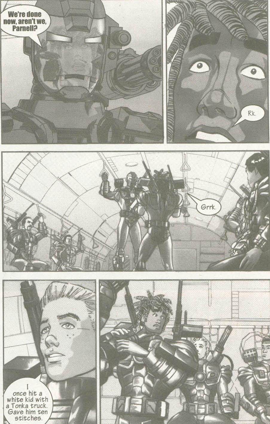 Read online U.S. War Machine comic -  Issue #6 - 8