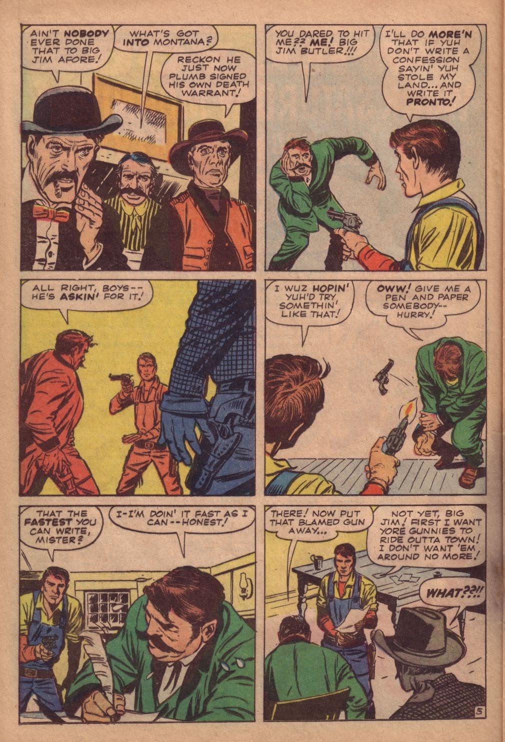 Gunsmoke Western issue 67 - Page 16