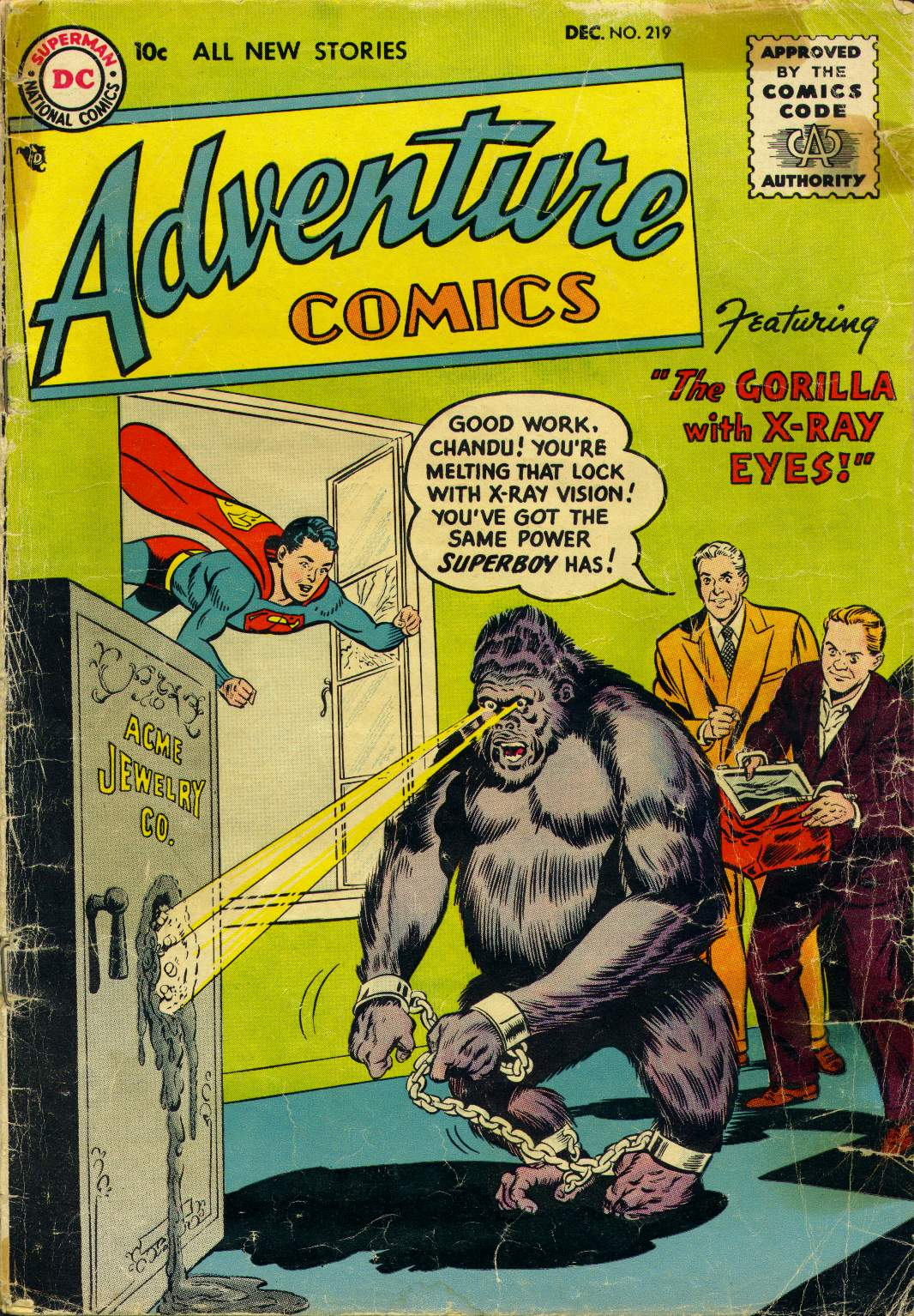 Read online Adventure Comics (1938) comic -  Issue #219 - 1