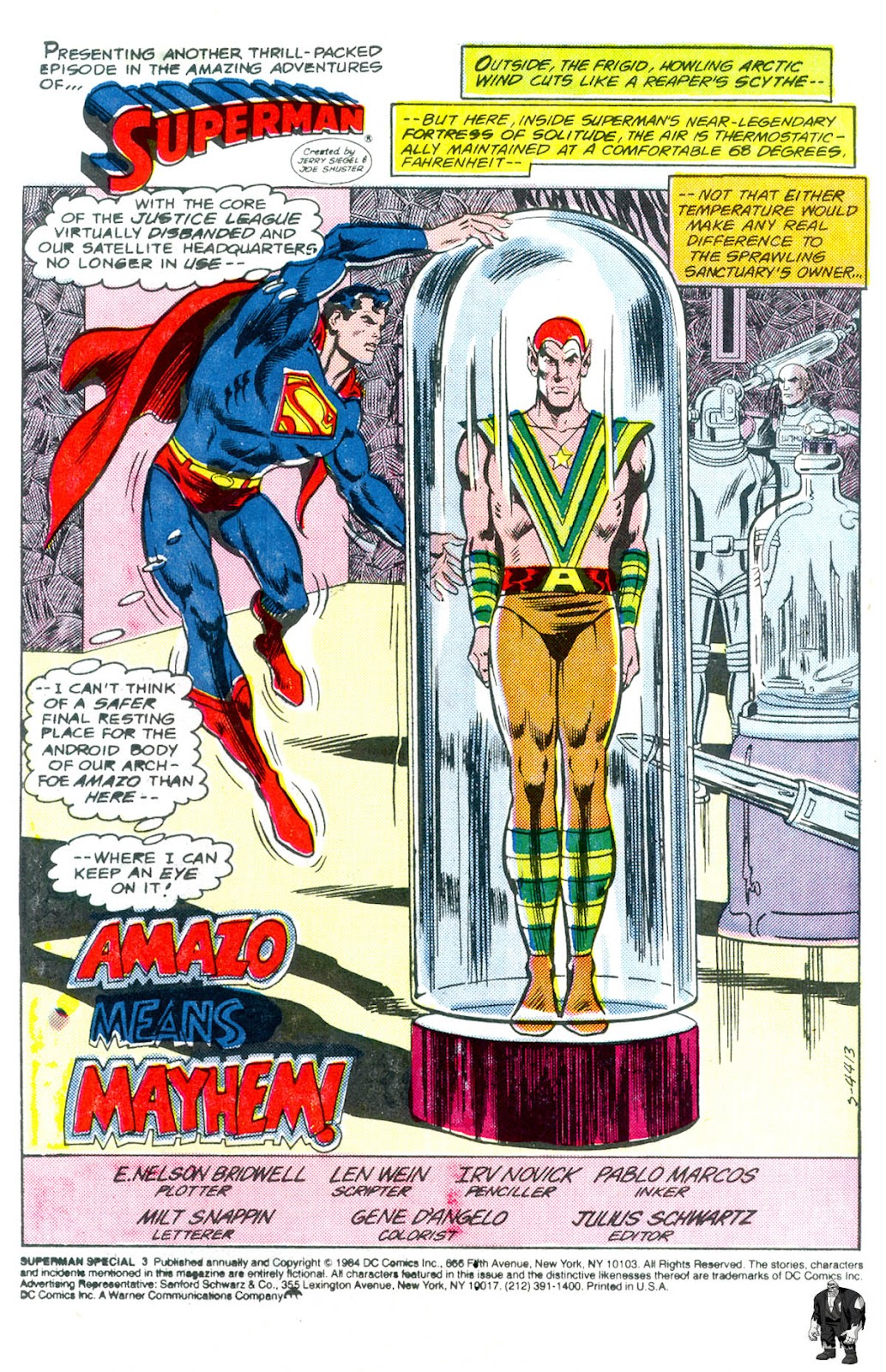 Read online Superman Special (1983) comic -  Issue #3 - 2