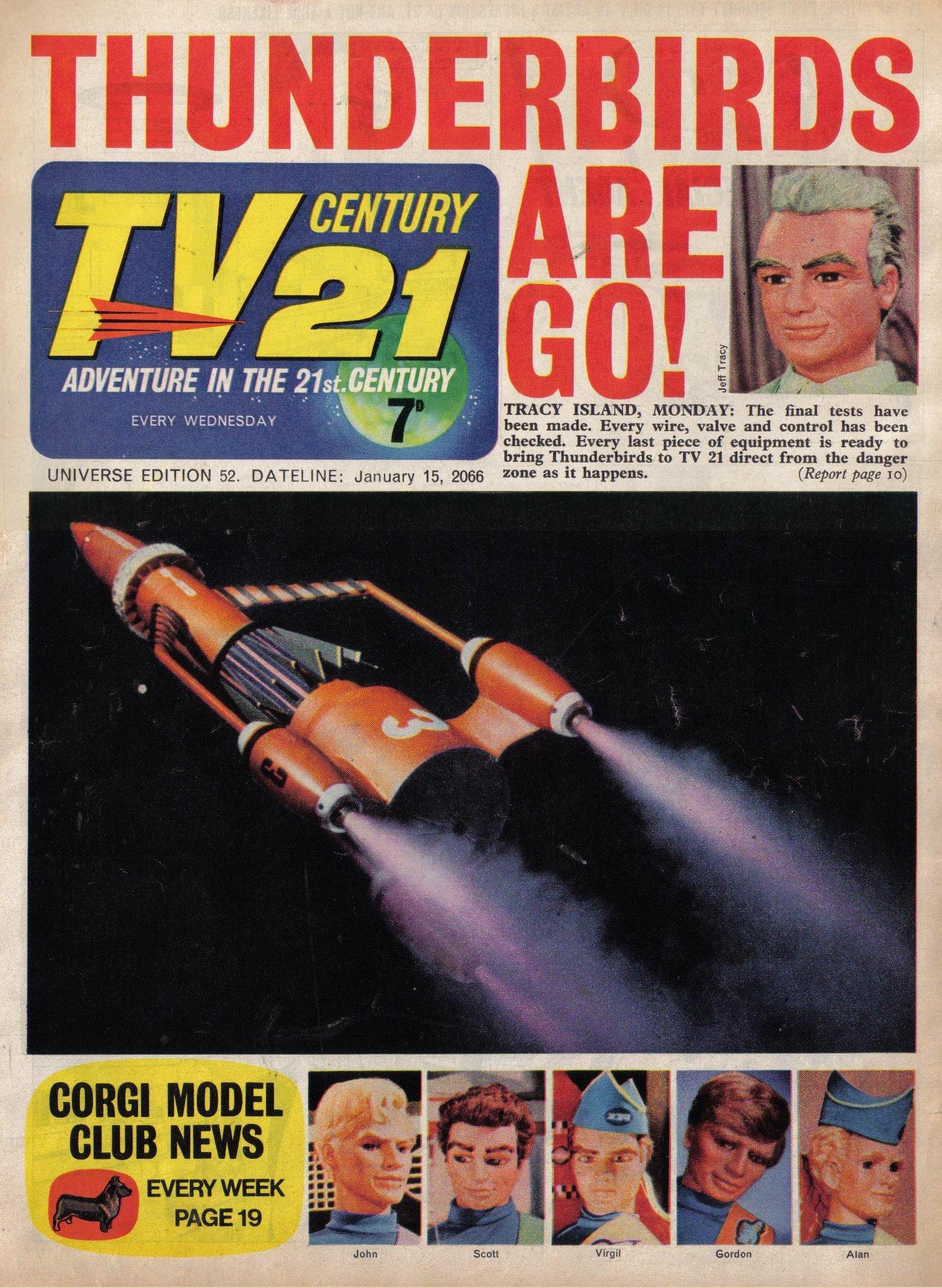 Read online TV Century 21 (TV 21) comic -  Issue #52 - 1