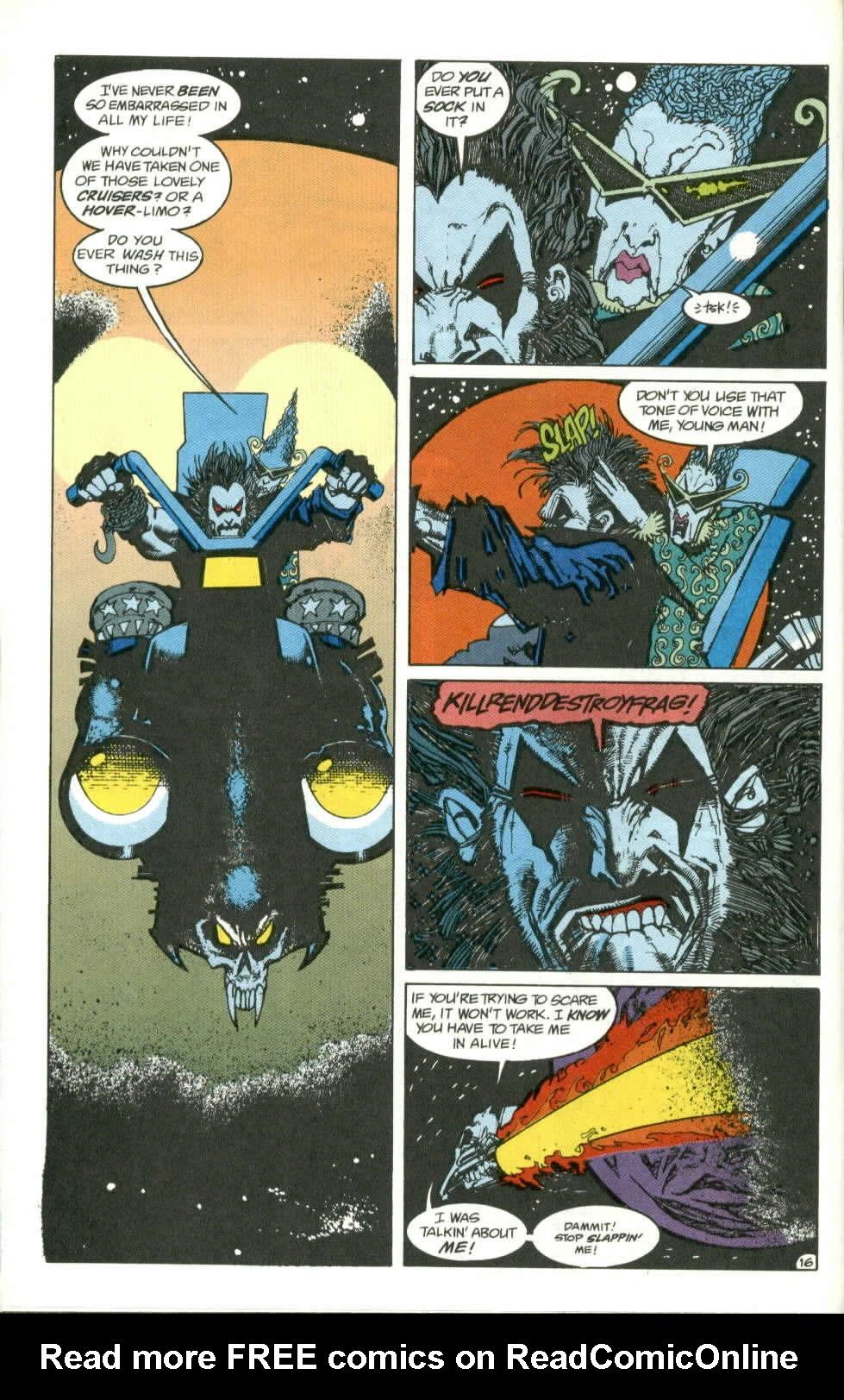 Read online Lobo (1990) comic -  Issue #1 - 17