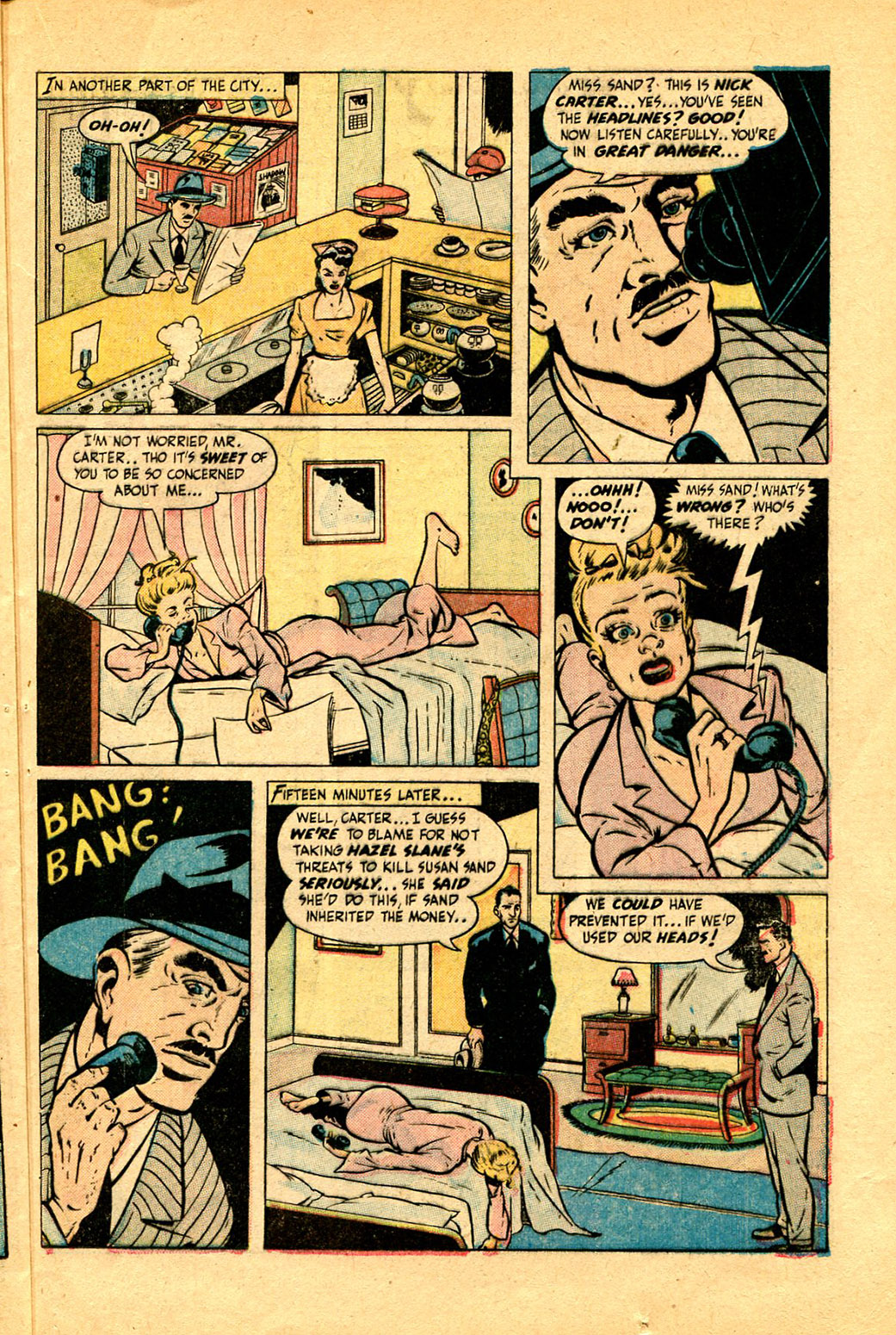 Read online Shadow Comics comic -  Issue #97 - 33