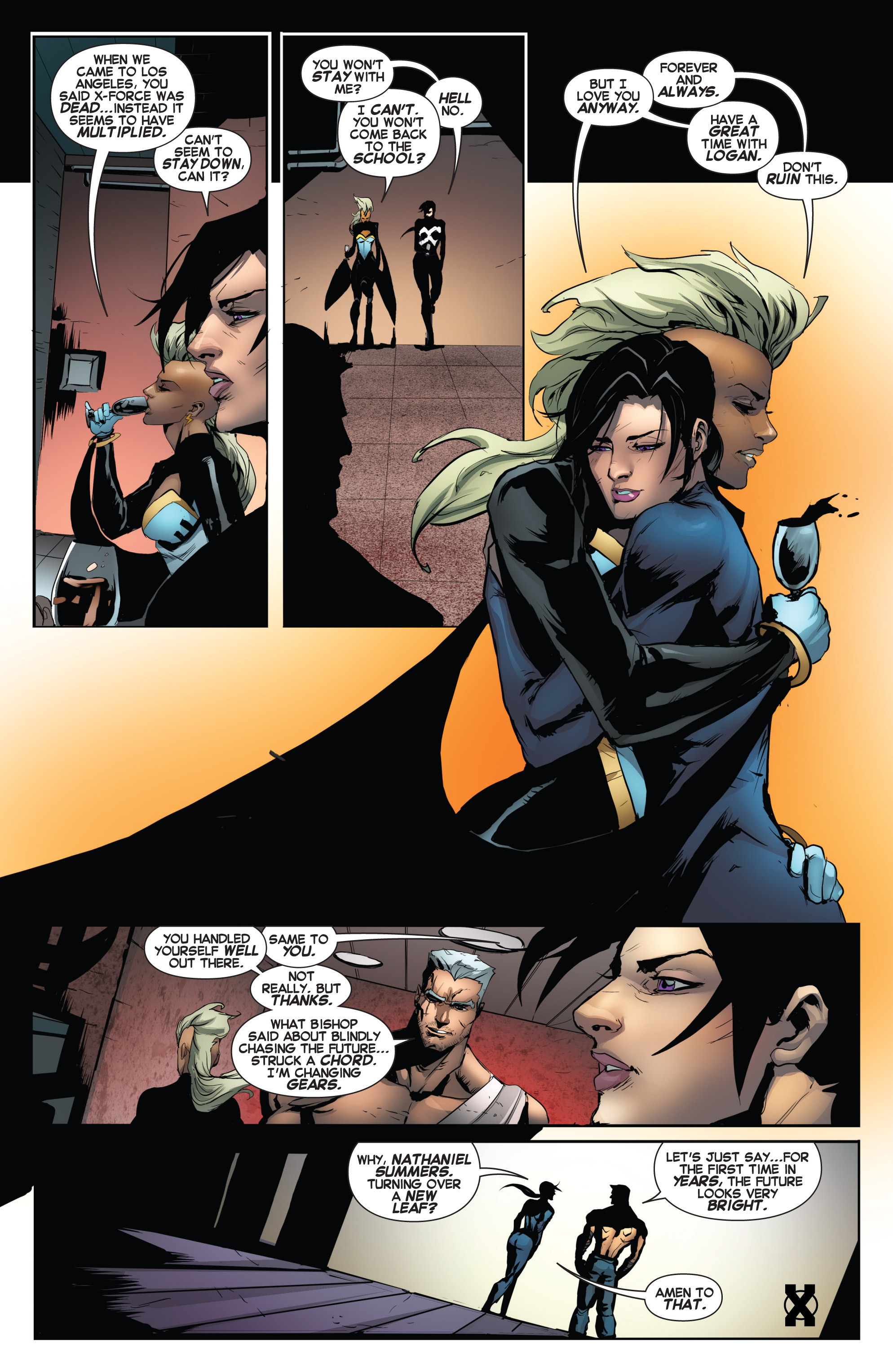 Read online Uncanny X-Force (2013) comic -  Issue #17 - 22