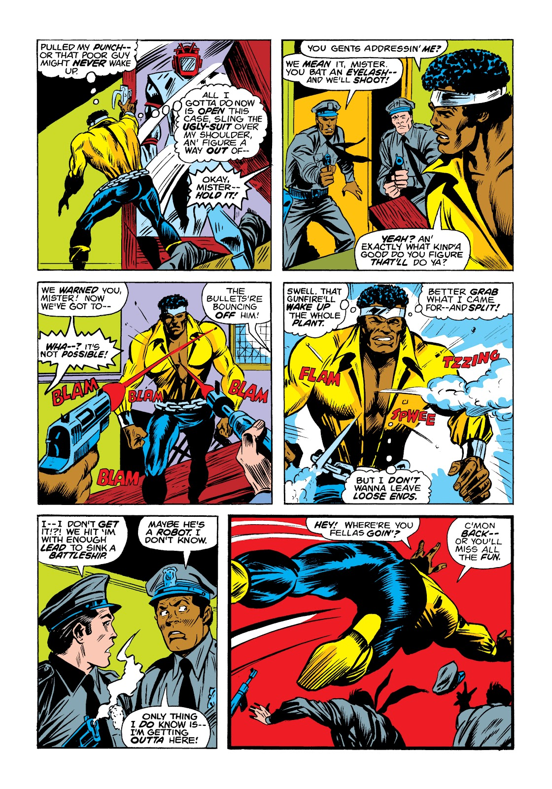 Read online Marvel Masterworks: Luke Cage, Power Man comic -  Issue # TPB 2 (Part 1) - 18