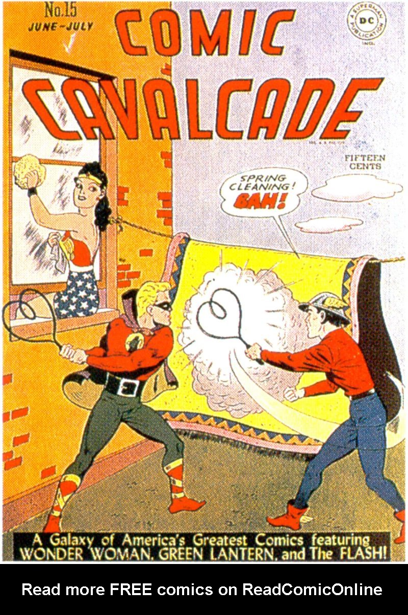 Comic Cavalcade 15 Page 1