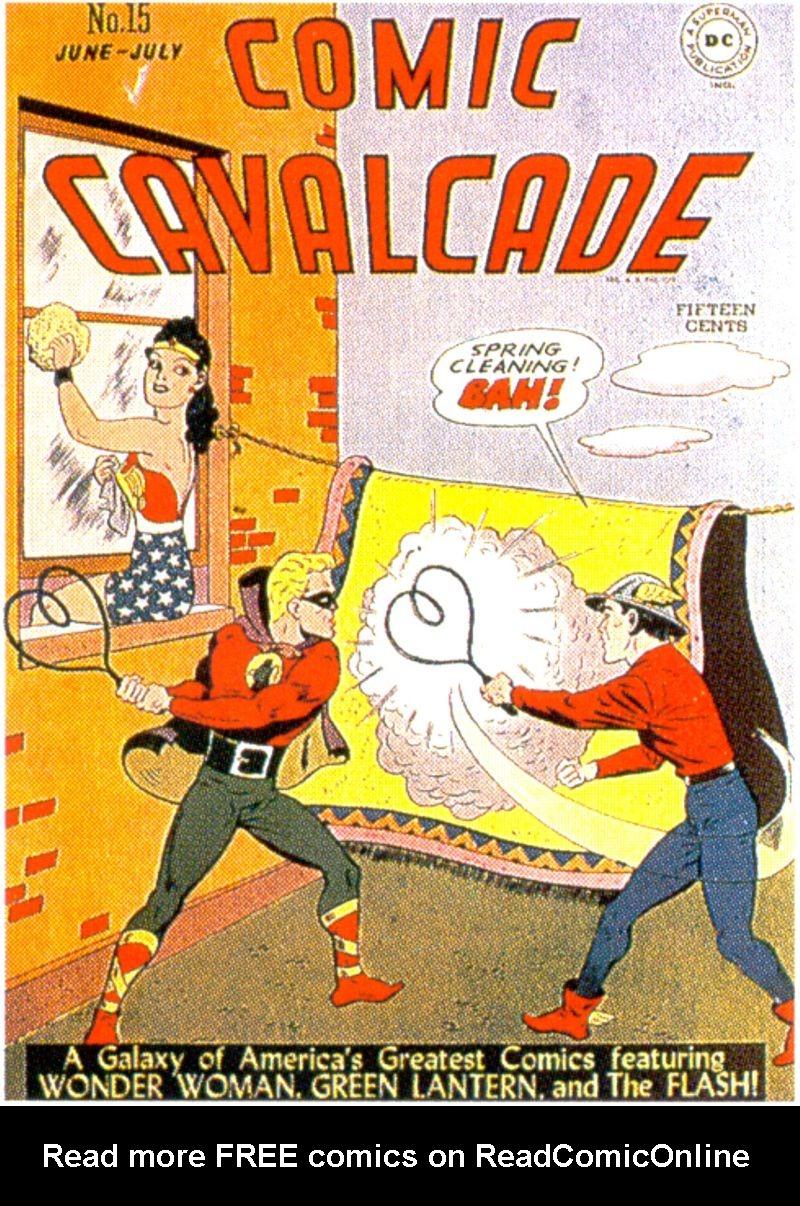 Comic Cavalcade issue 15 - Page 1