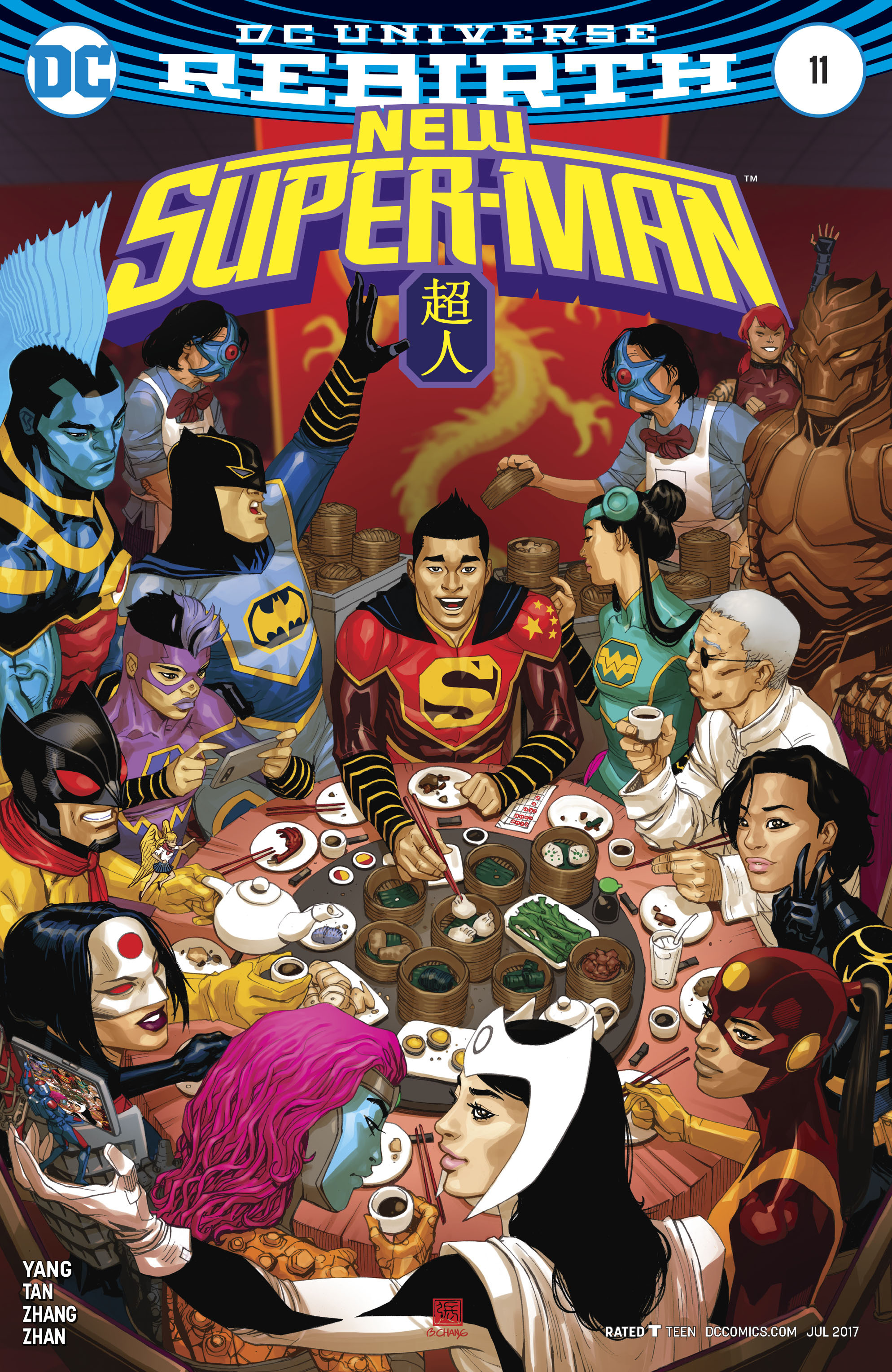 Read online New Super-Man comic -  Issue #11 - 3