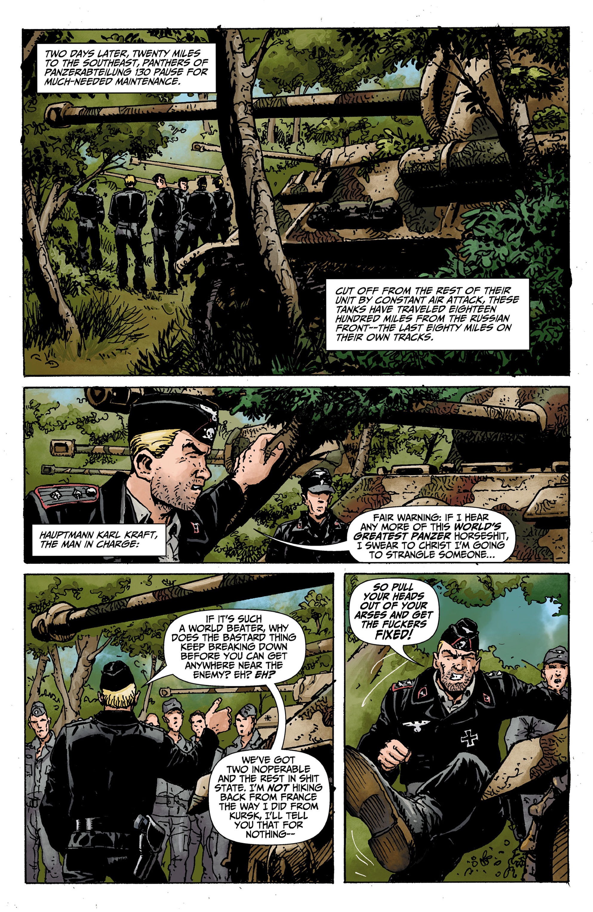 Read online World of Tanks comic -  Issue #1 - 6