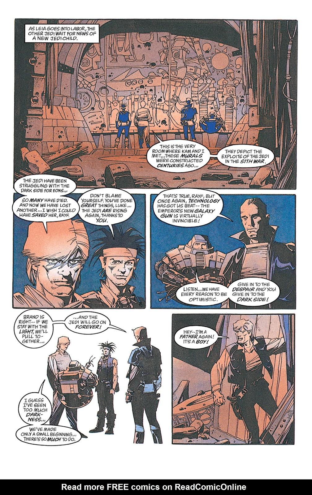 Read online Star Wars: Dark Empire Trilogy comic -  Issue # TPB (Part 4) - 5