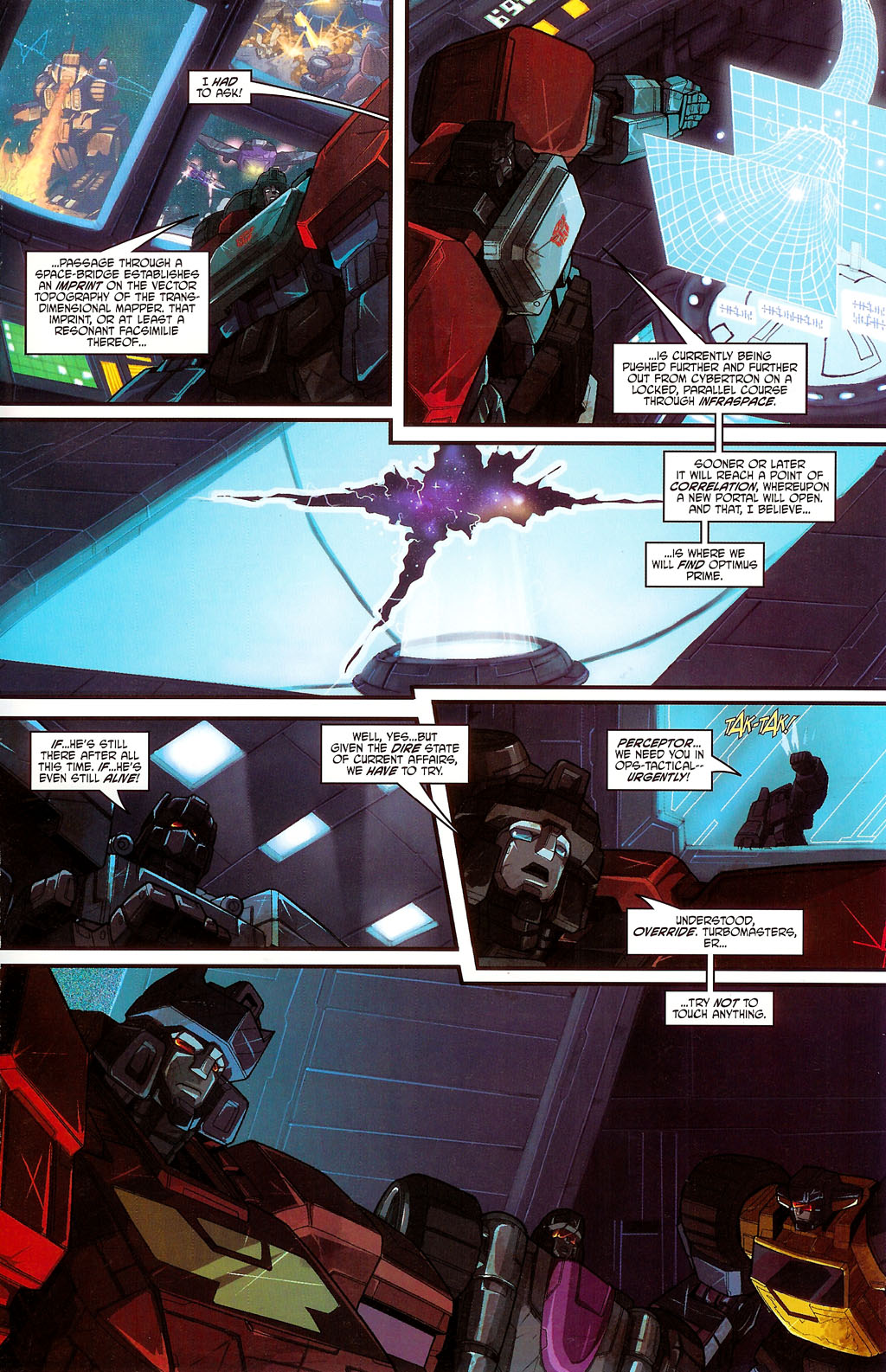 """Read online Transformers War Within: """"The Age of Wrath"""" comic -  Issue #3 - 11"""