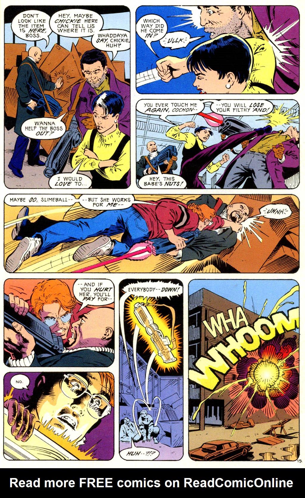 Read online Gunfire comic -  Issue #1 - 21