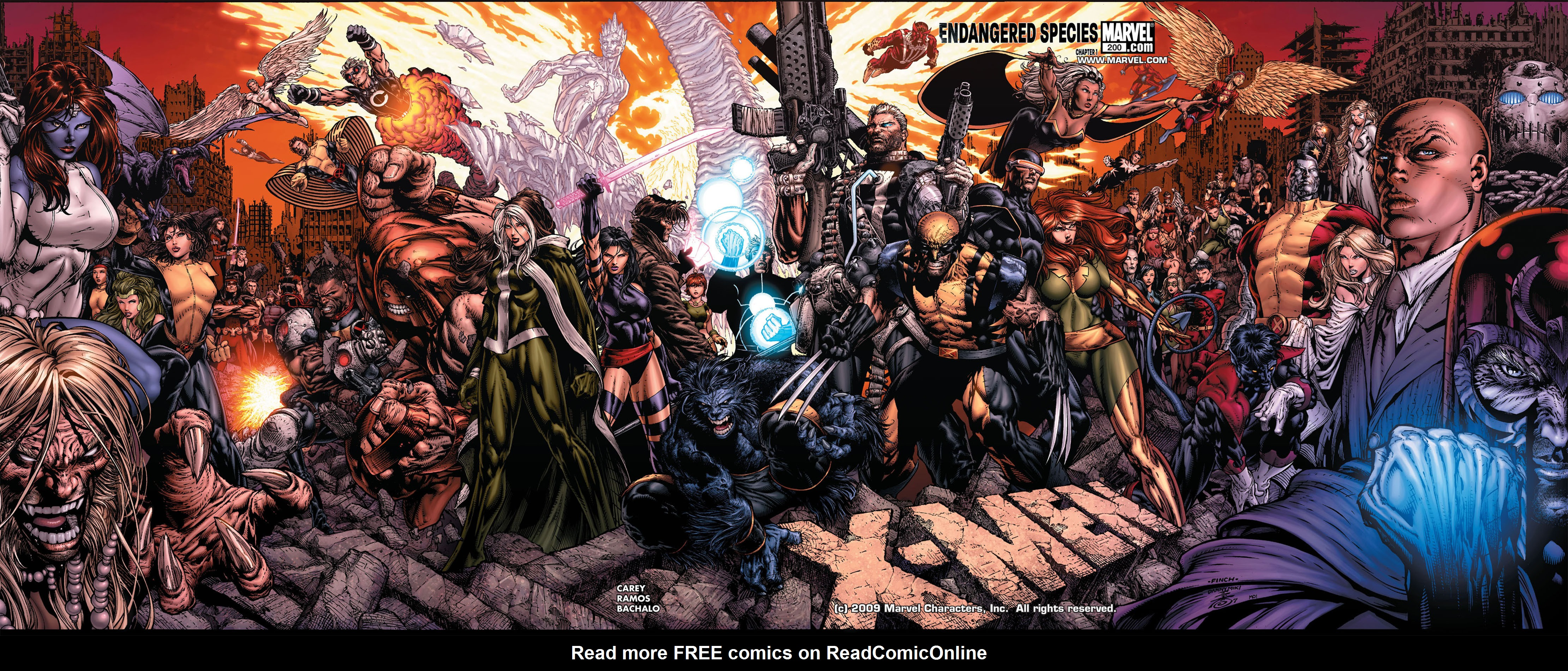 X-Men (1991) 200 Page 1