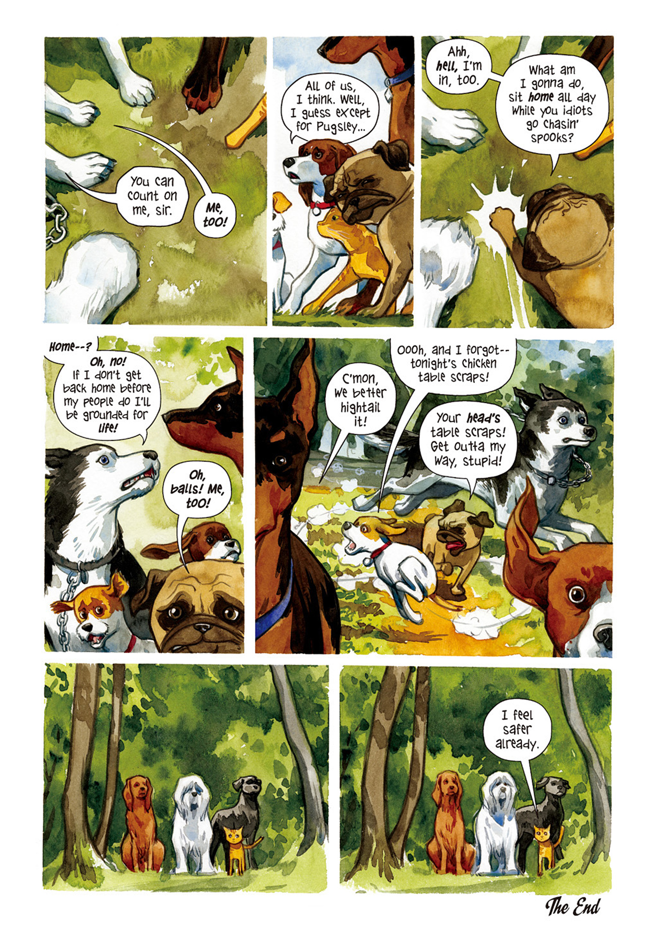 Beasts of Burden 1 Page 26