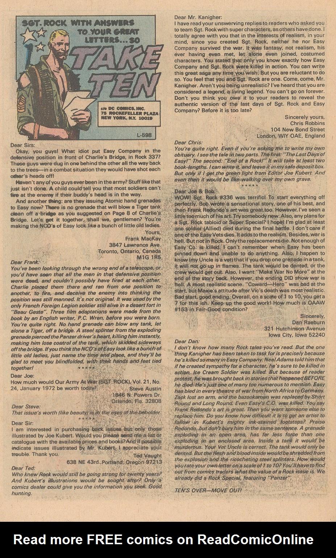 Read online Sgt. Rock comic -  Issue #348 - 27