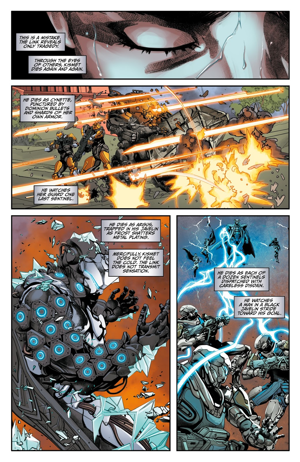 Read online Anthem comic -  Issue #3 - 9