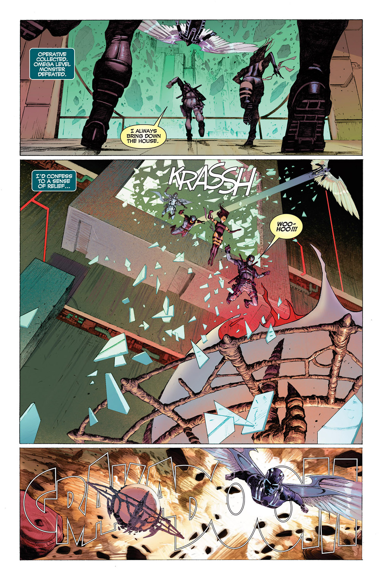 Read online Uncanny X-Force (2010) comic -  Issue #1 - 23