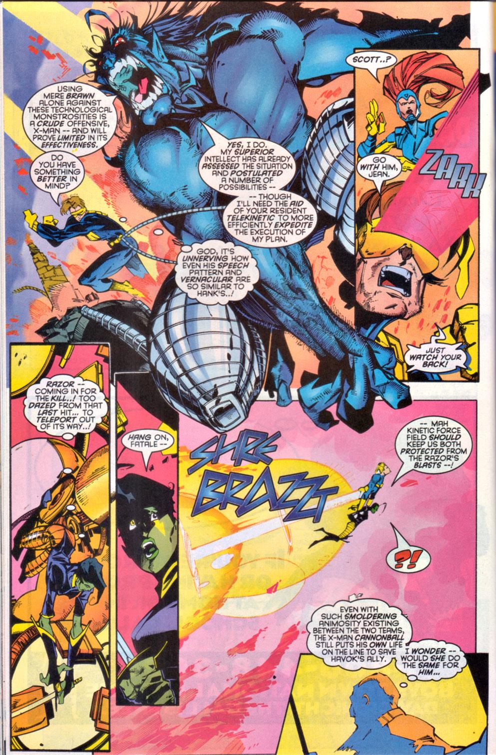 Read online Uncanny X-Men (1963) comic -  Issue # _Annual 1997 - 20
