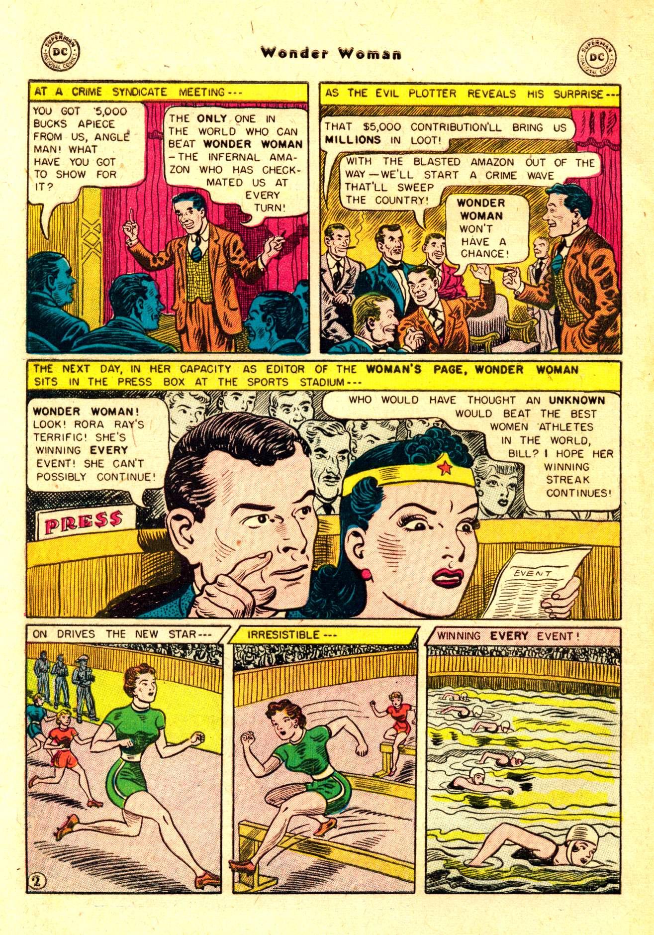 Read online Wonder Woman (1942) comic -  Issue #84 - 5